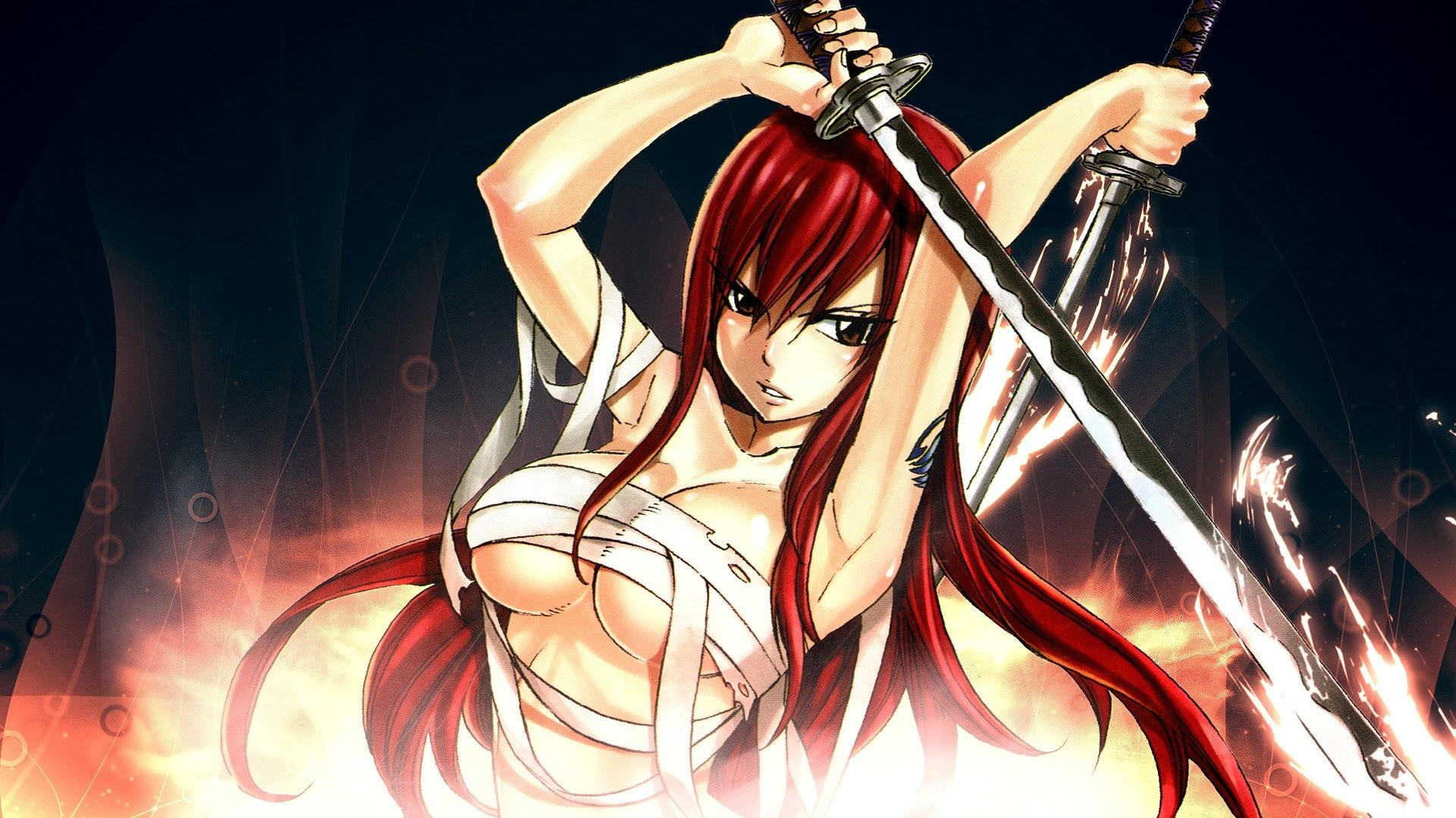 Fairy tail erza wallpapers 82 background pictures - Erza scarlet wallpaper ...