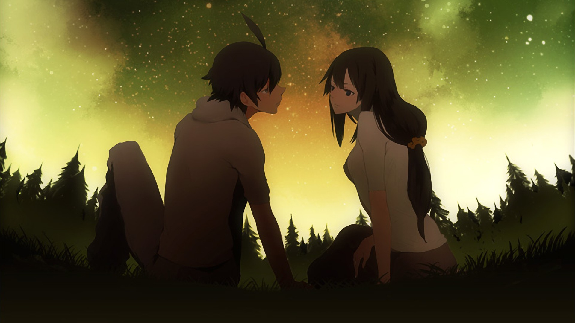 Cute Anime Couple Wallpapers 79 Background Pictures