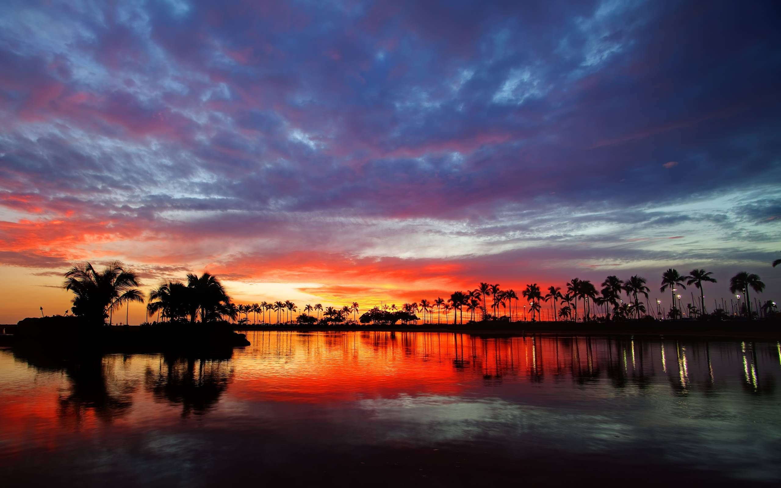 2560x1600 Beautiful Sunset Wallpaper For Android U47