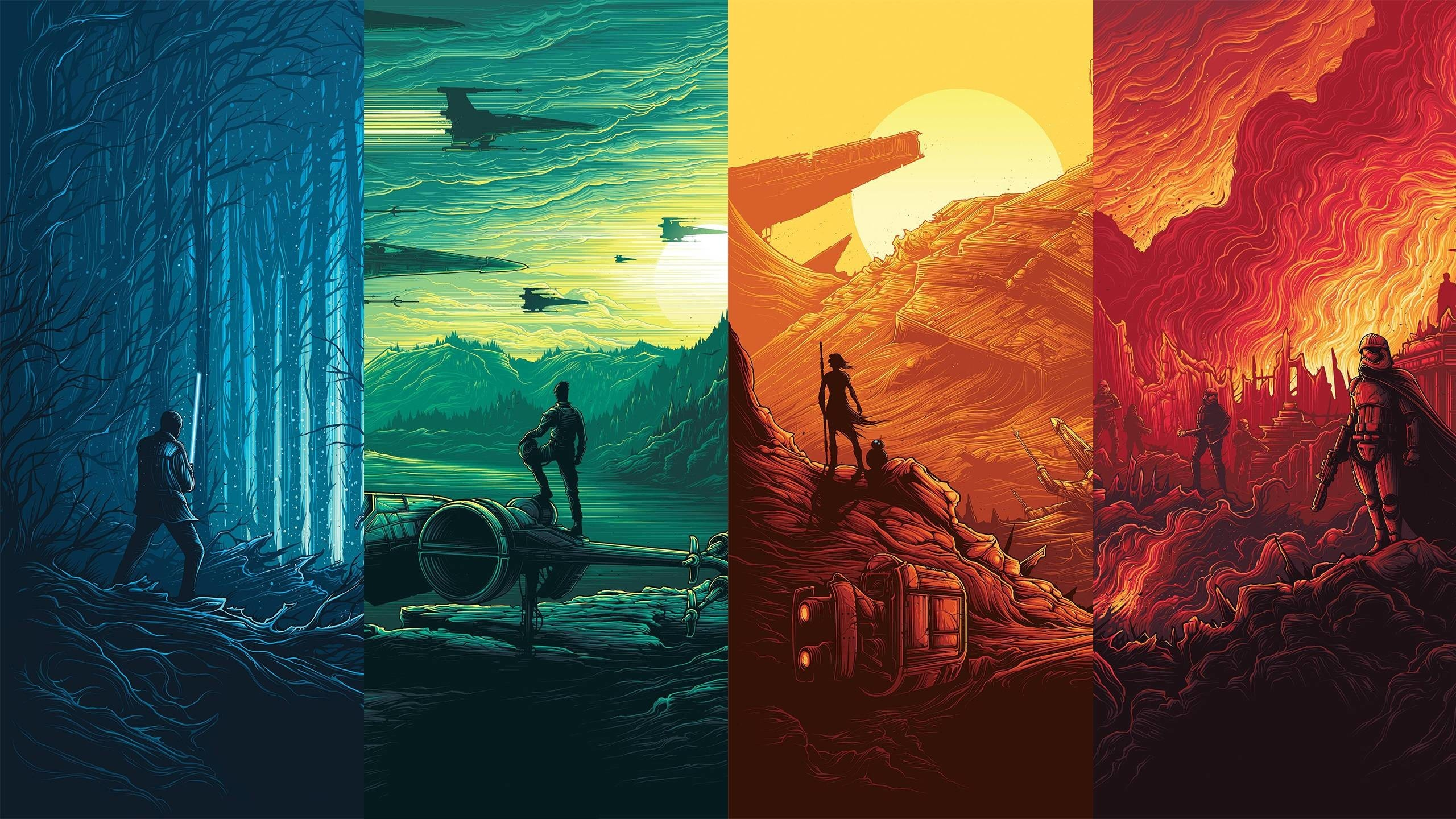 Star Wars Wallpapers 2560x1440 88 Background Pictures