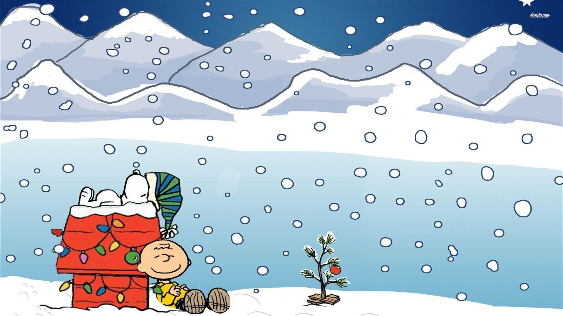 1920x1080 wallpapers for charlie brown snoopy christmas wallpaper - Snoopy Christmas