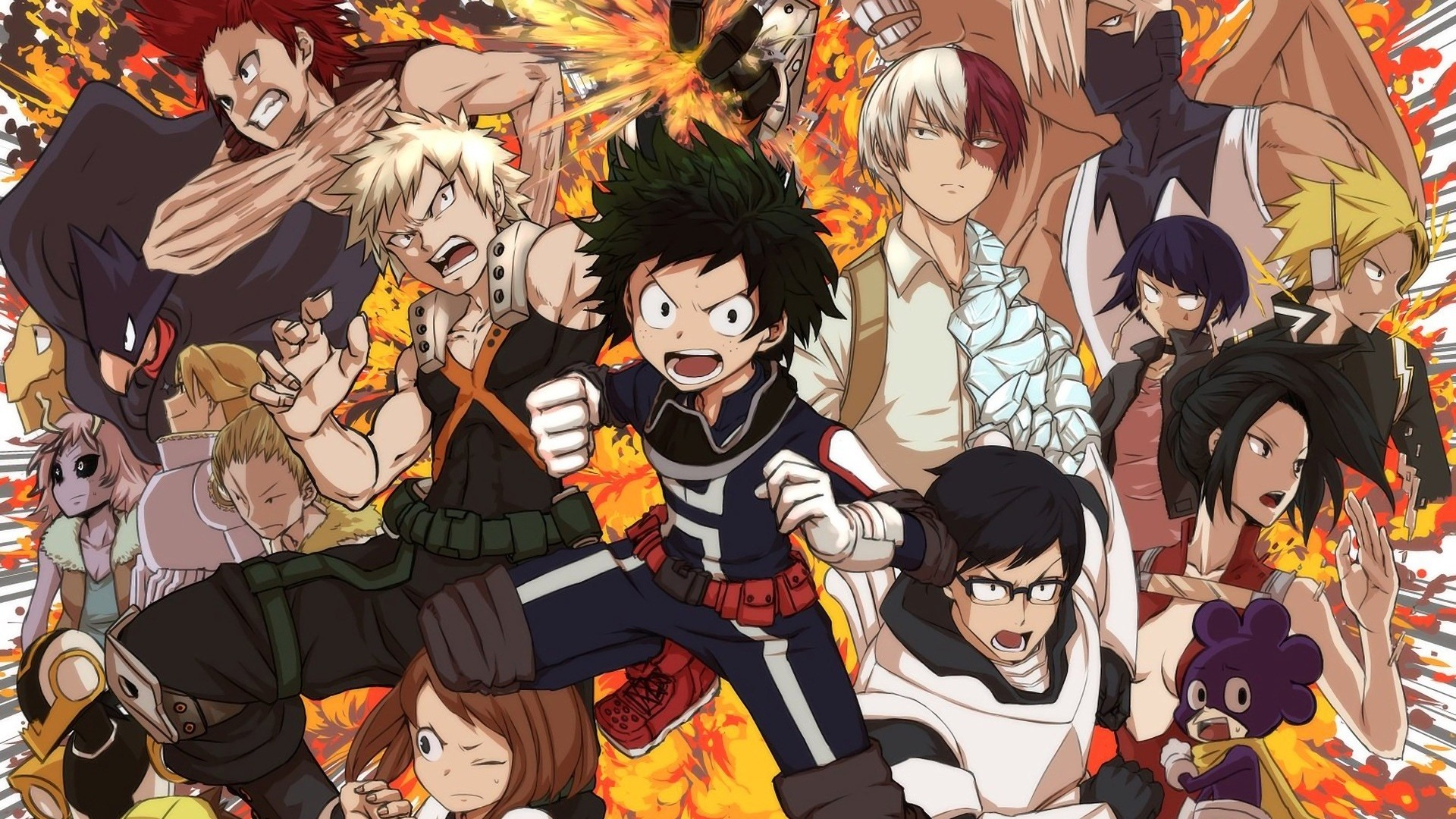 Boku No Hero Academia Wallpapers (72+ background pictures)