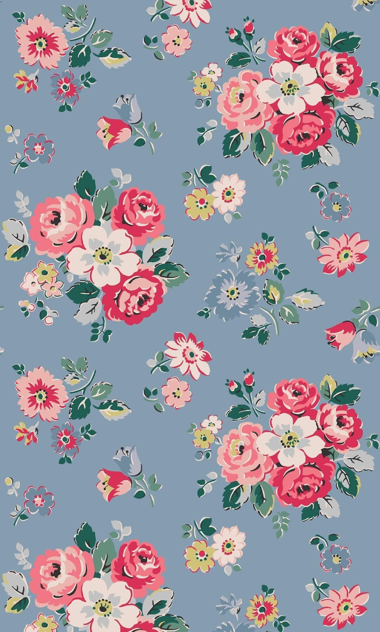 Vintage Floral Wallpapers (49+ background pictures)