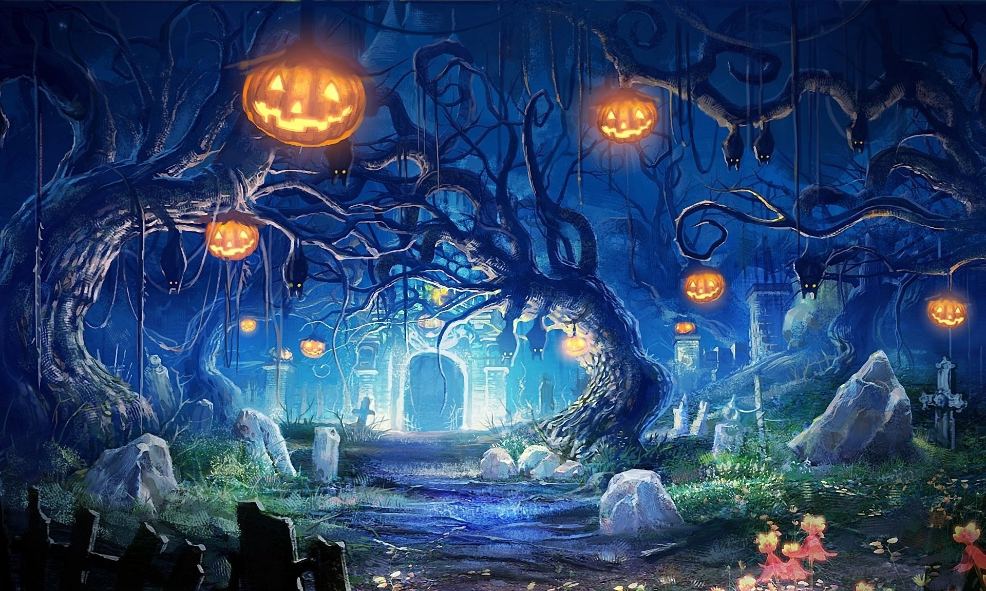 Halloween Backgrounds Wallpapers 81 Background Pictures