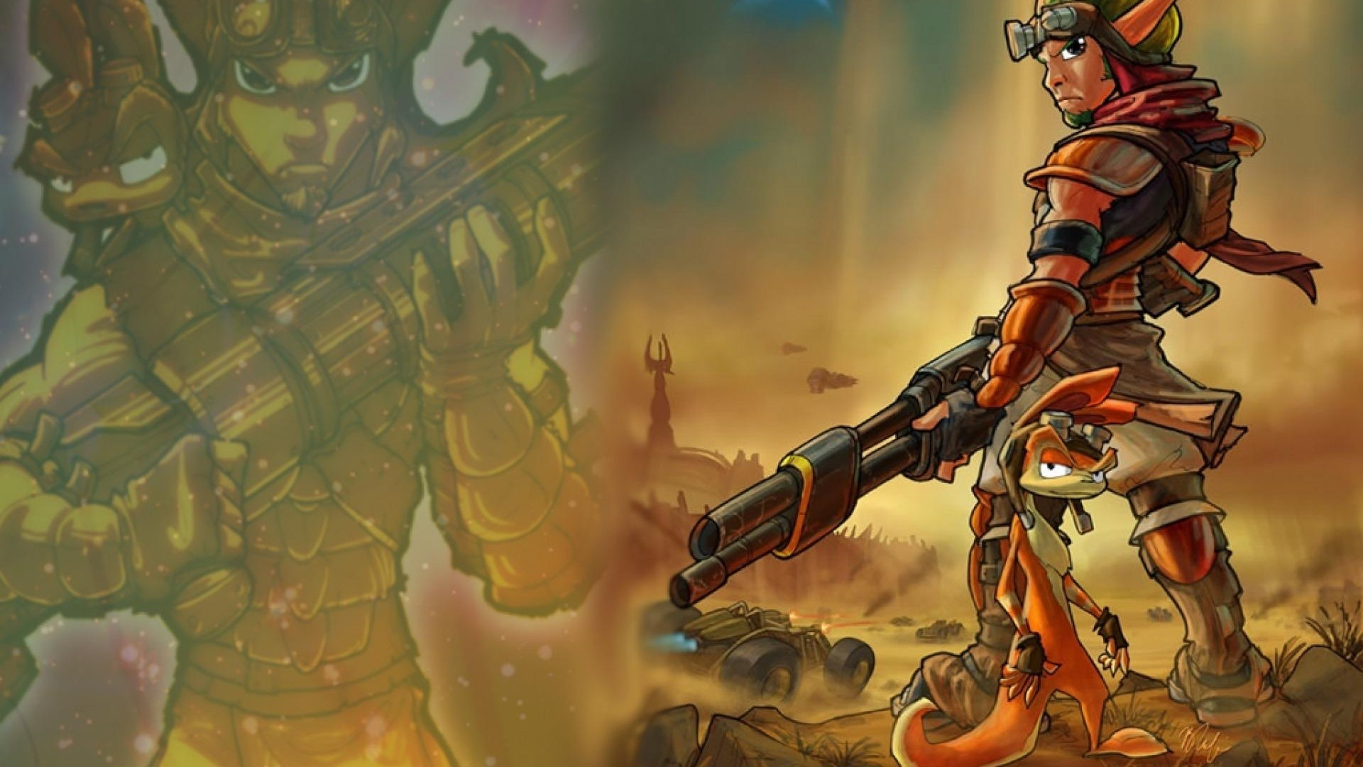 Jak And Daxter Wallpapers (73+ Background Pictures