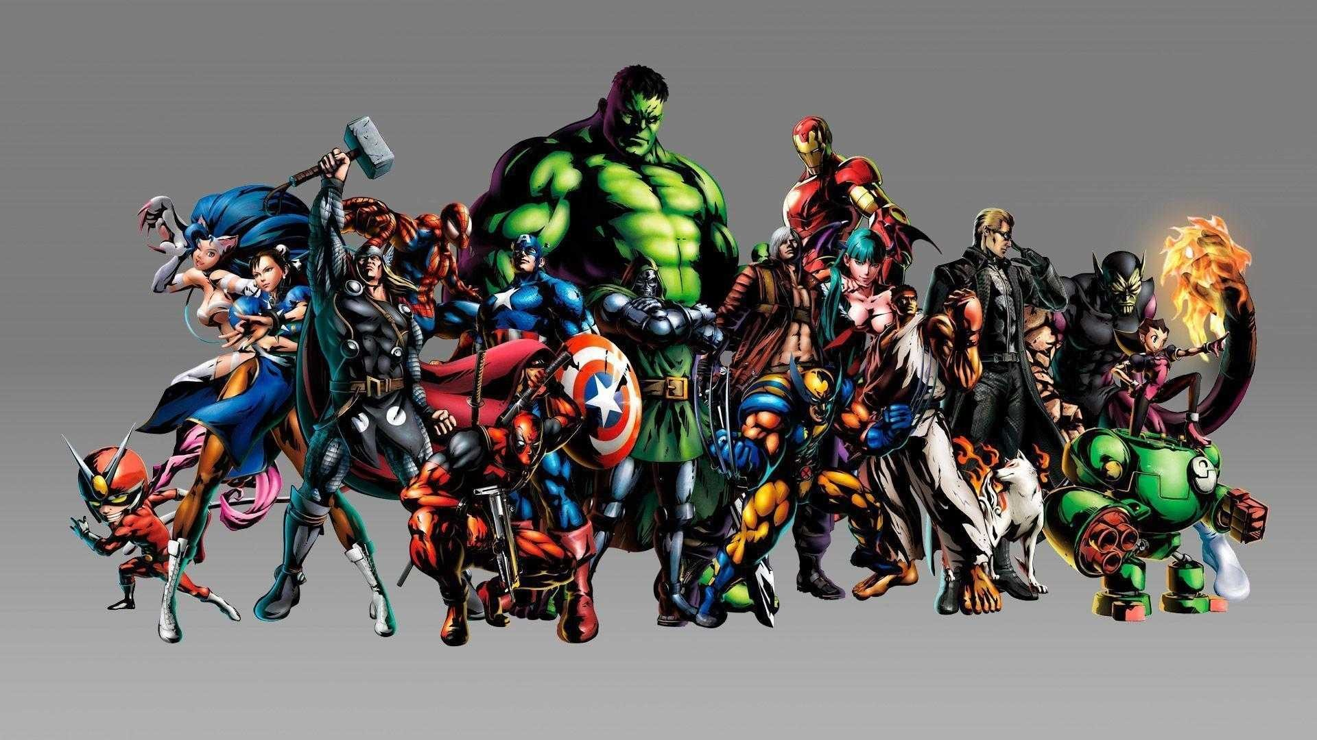 2560x1600 50 HD Wallpapers Of Comic Heroes And Villains
