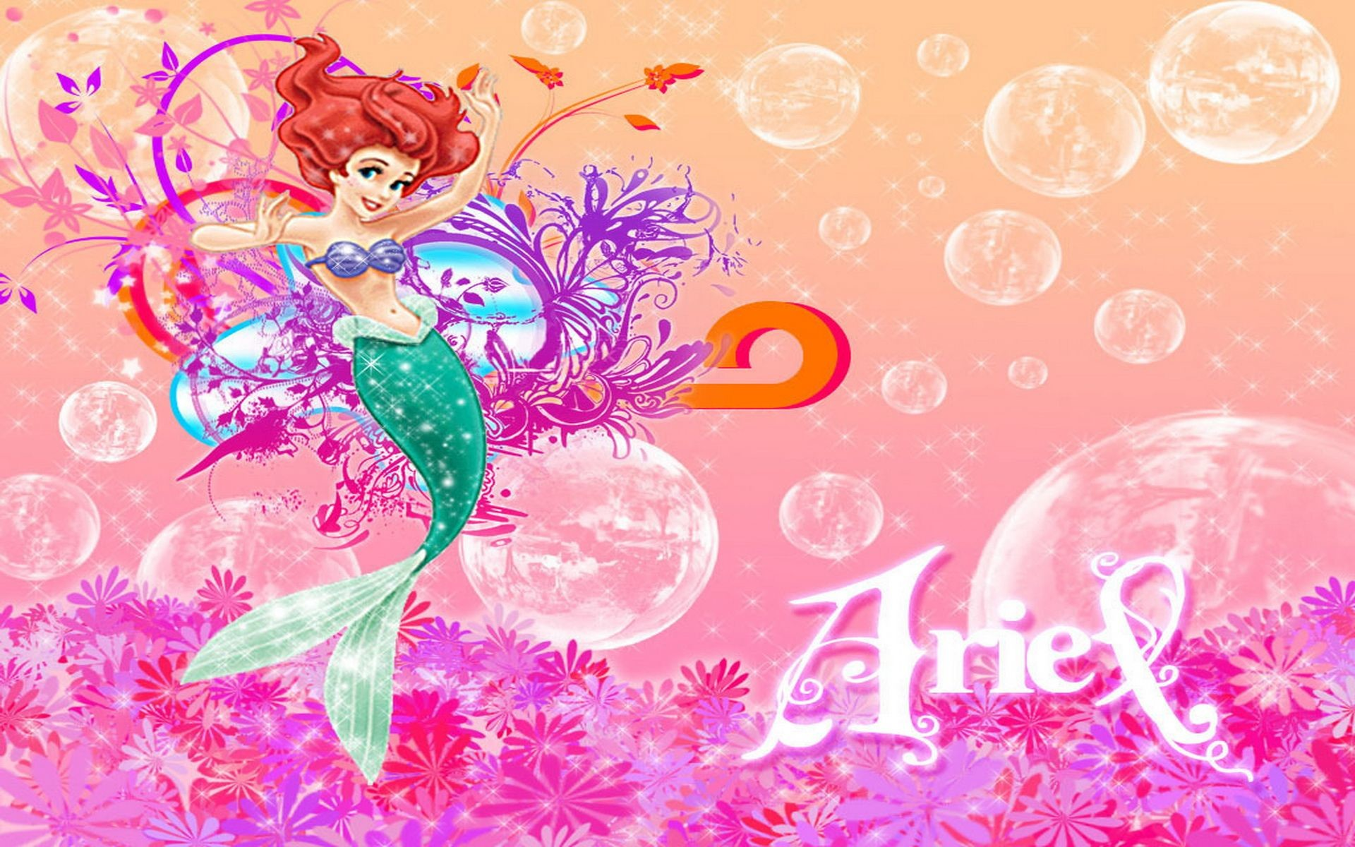 Wallpapers Princess Ariel 66 Background Pictures