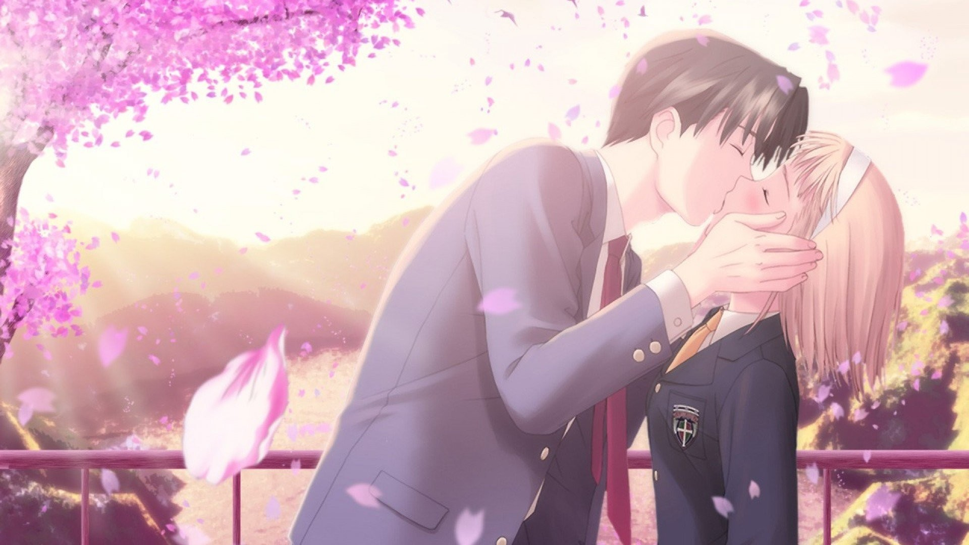 2560x1600 Anime Couple Wallpaper Compatible