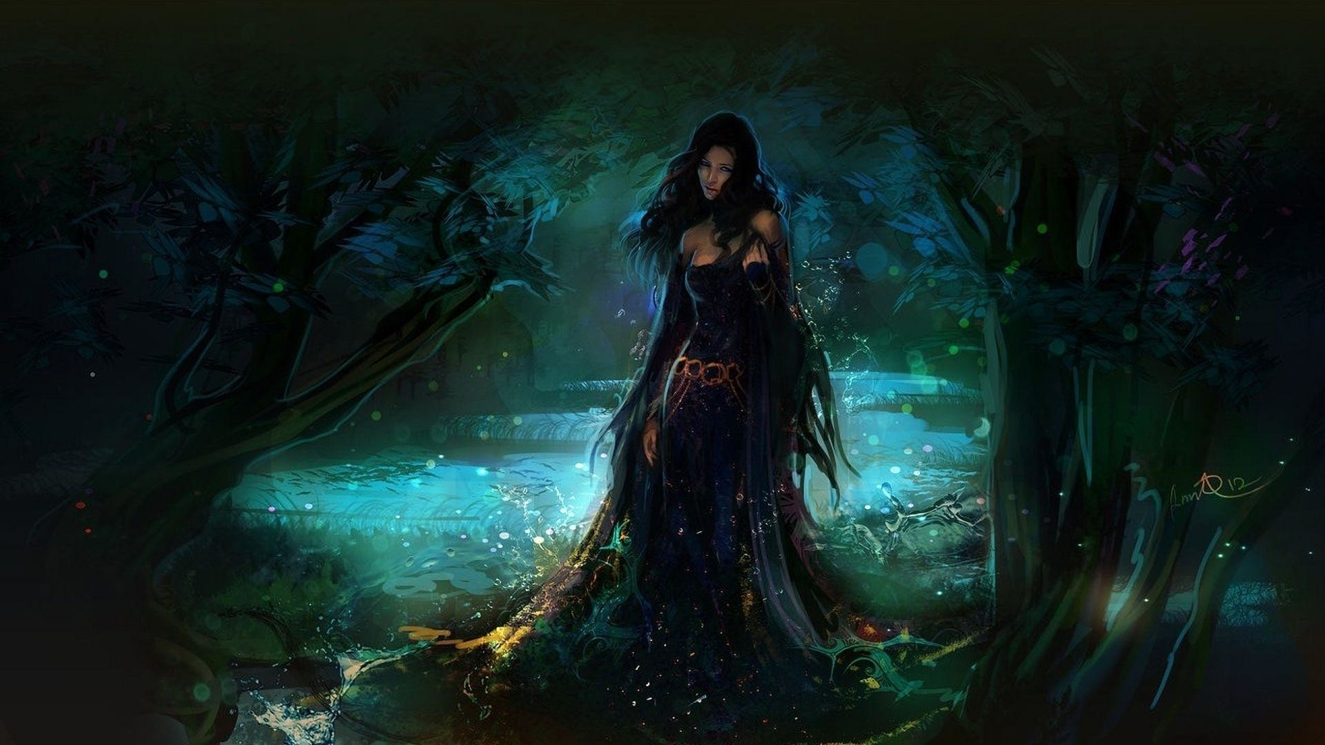 1920x1200 Magic Forest Wallpapers - Full HD wallpaper search