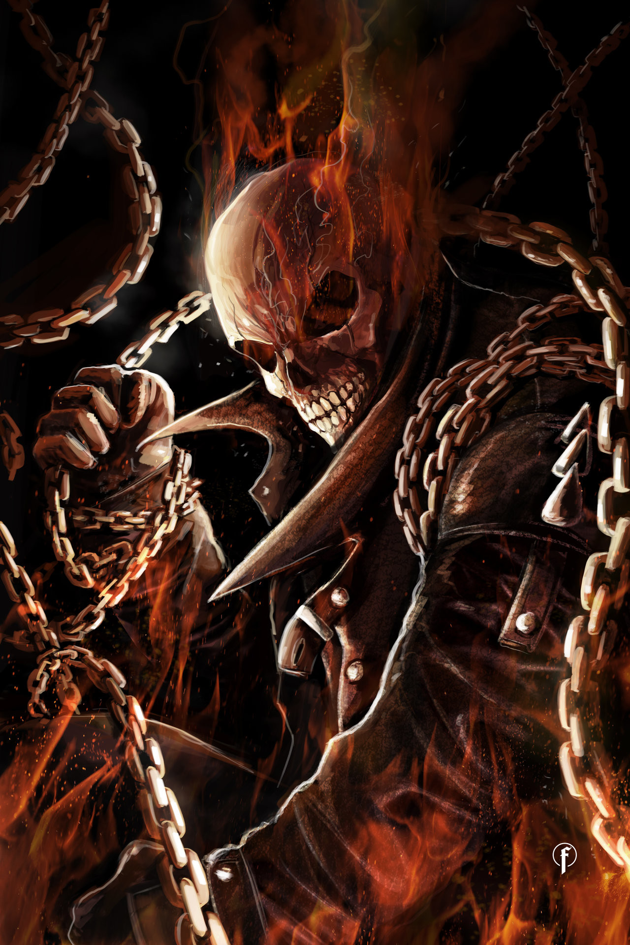 3840x1600 Ghost Rider Wallpaper By Gojirafan1994