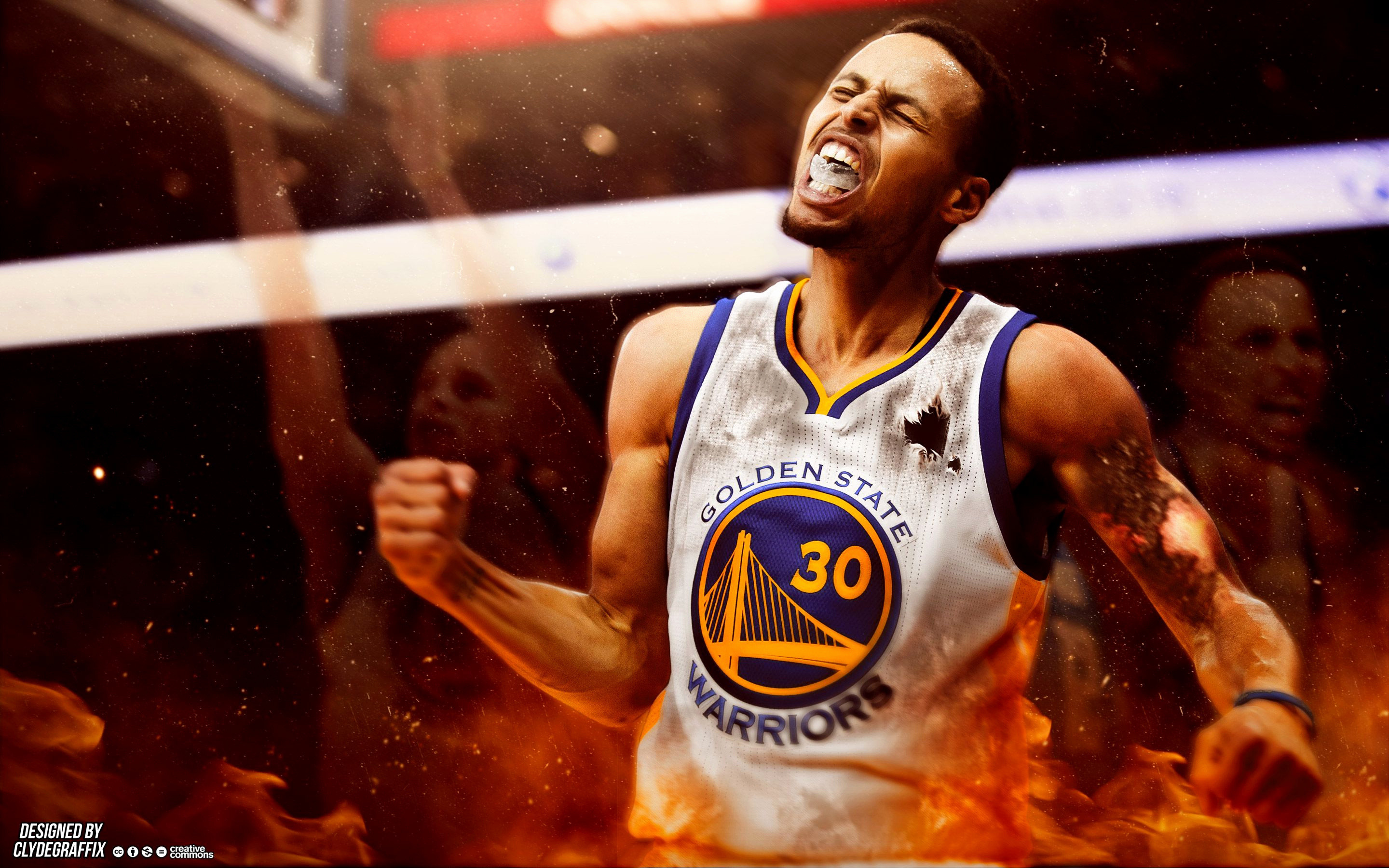 Stephen Curry Fire Wallpapers 80 Background Pictures