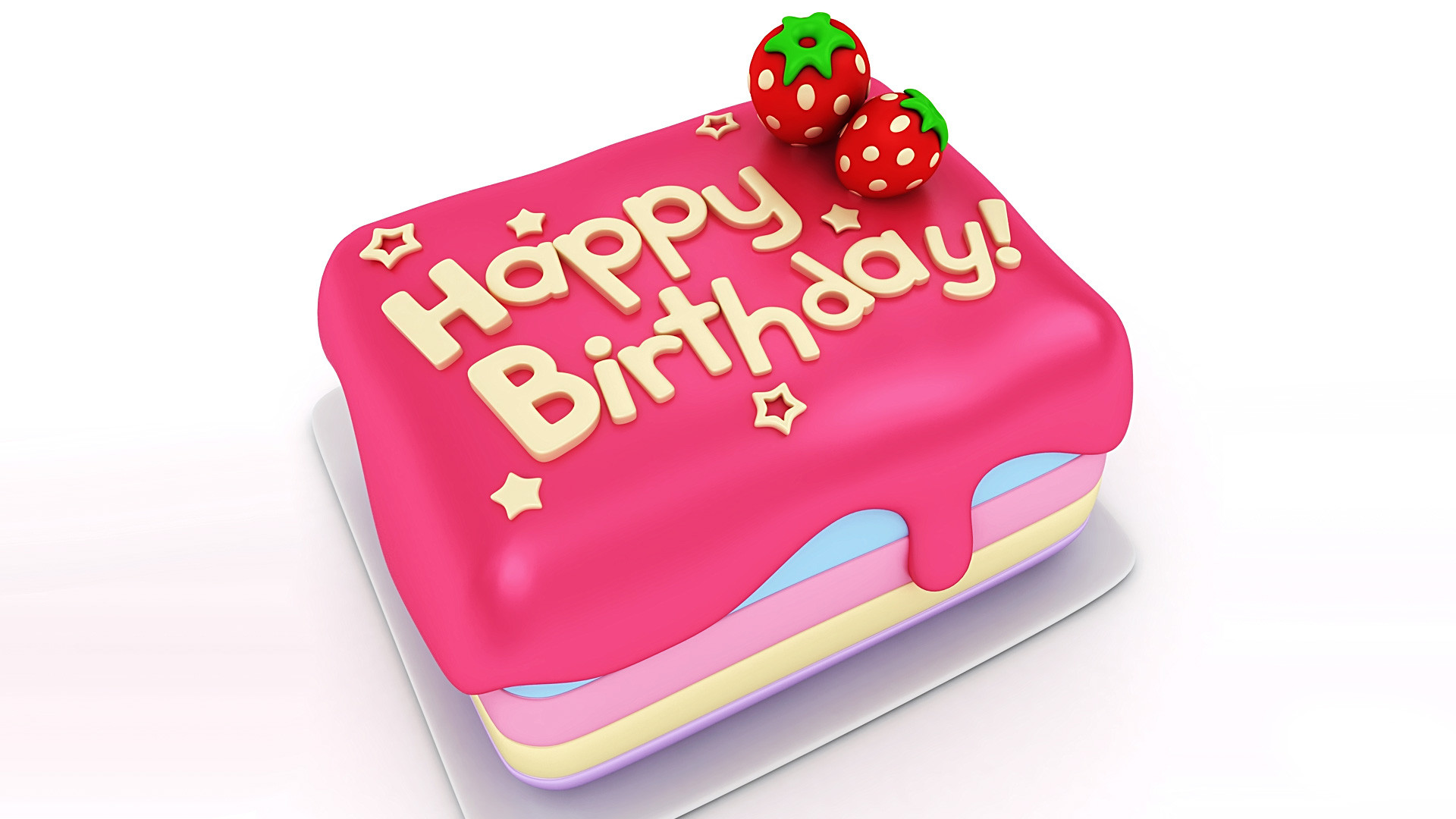 Wallpapers Happy Birthday Cake 49 Background Pictures