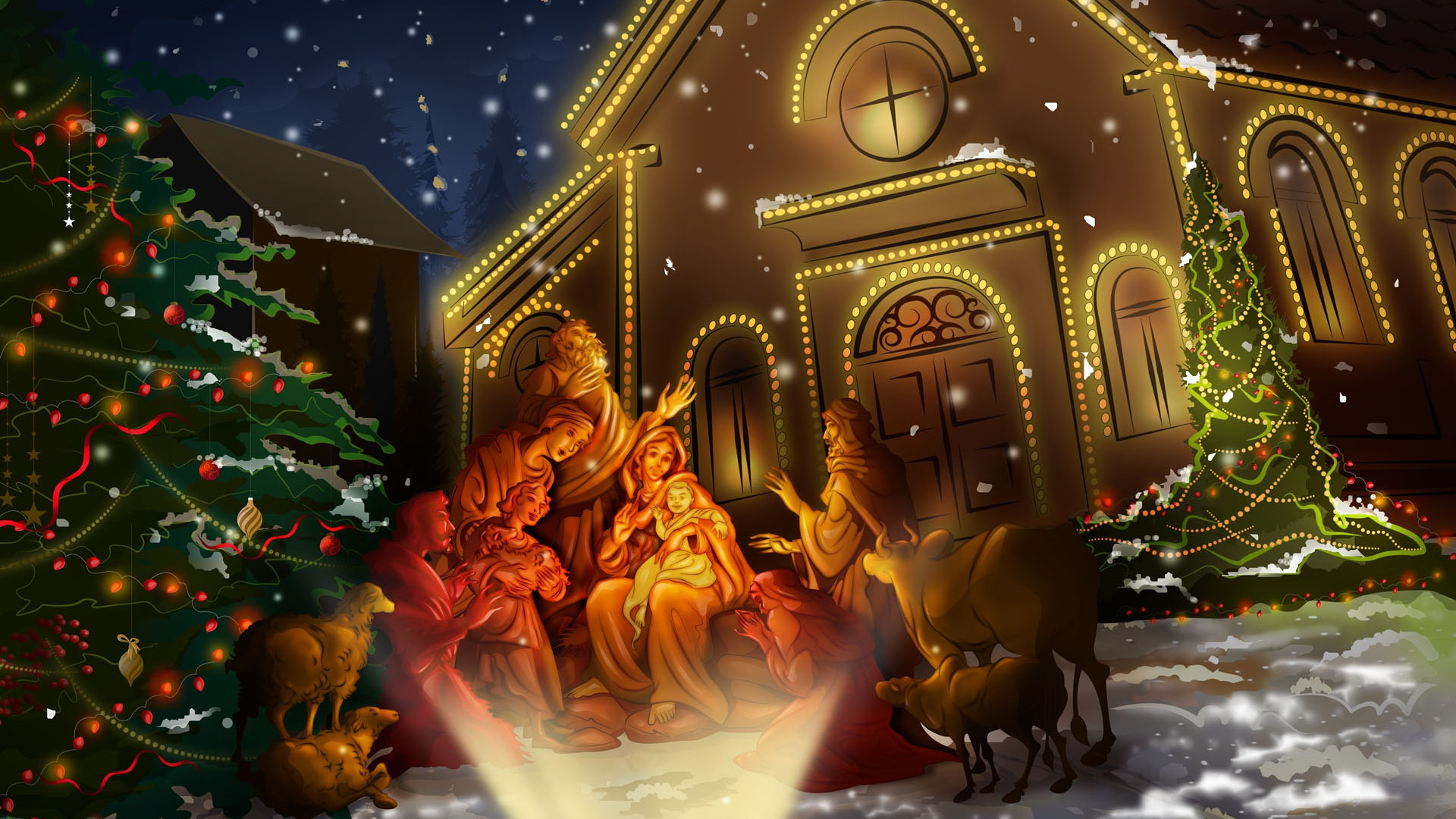 Hd Christmas Wallpaper.Christmas Wallpapers Computer 62 Background Pictures