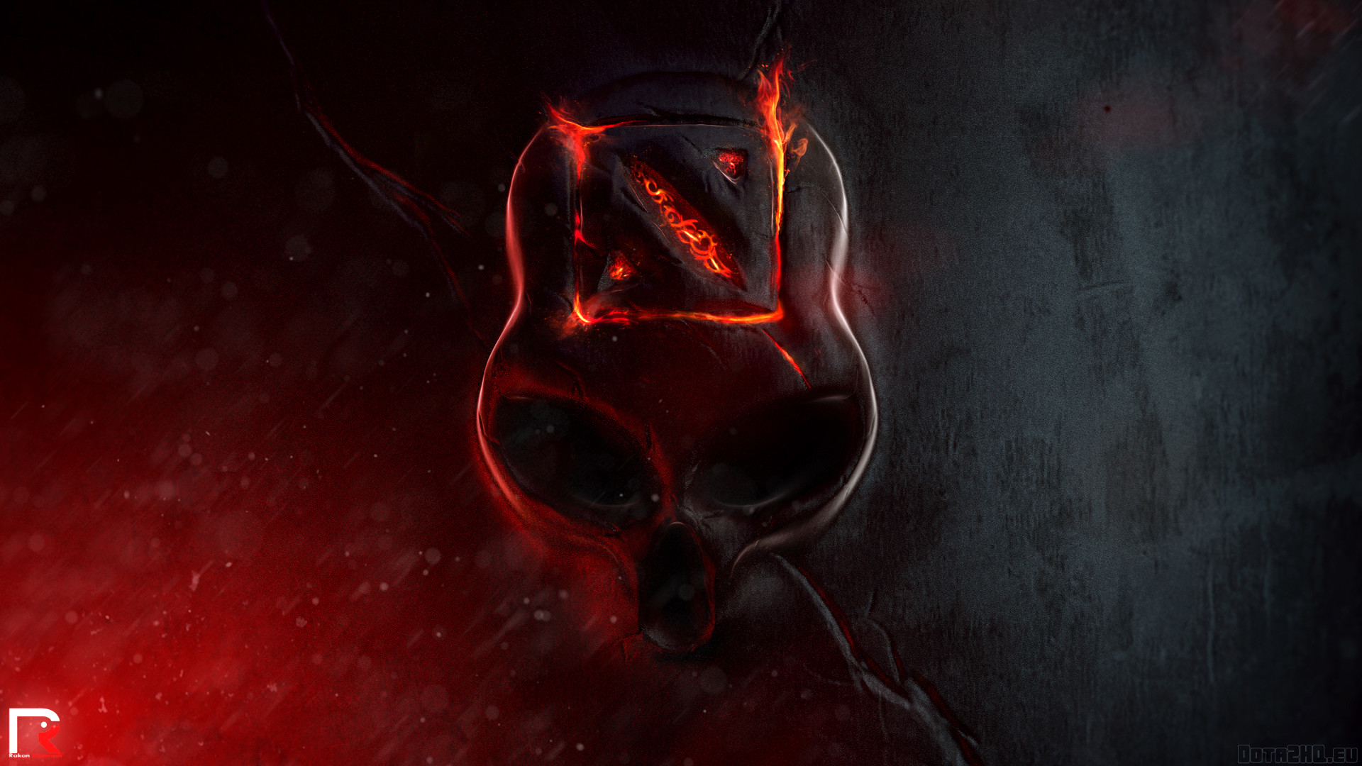 Fire Skull Wallpapers (70+ background pictures)