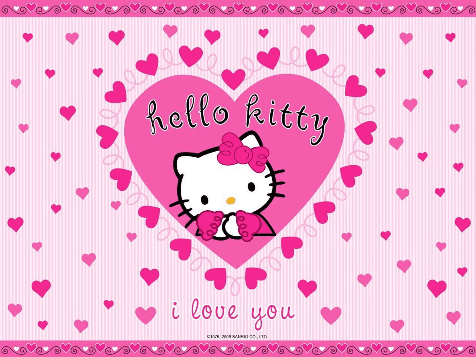 Christmas Hello Kitty Wallpapers 70 Background Pictures