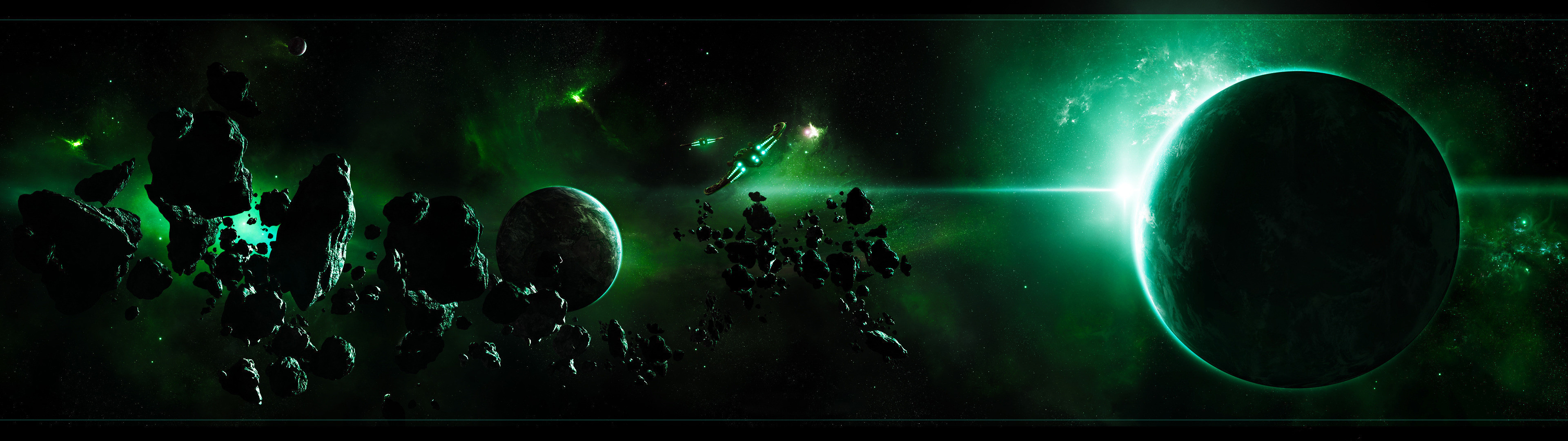 Dual Monitor Wallpapers Space (62+ background pictures)