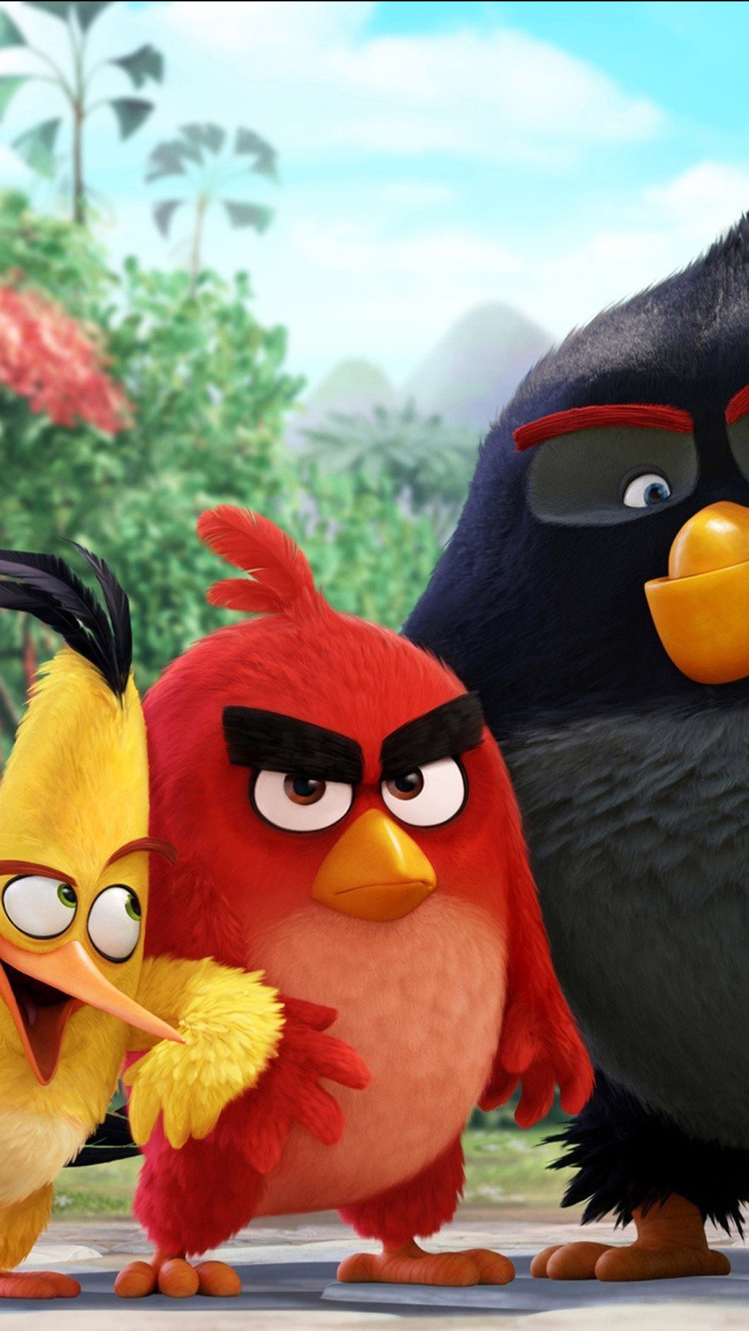 1920x1200 Angry Birds Wallpaper