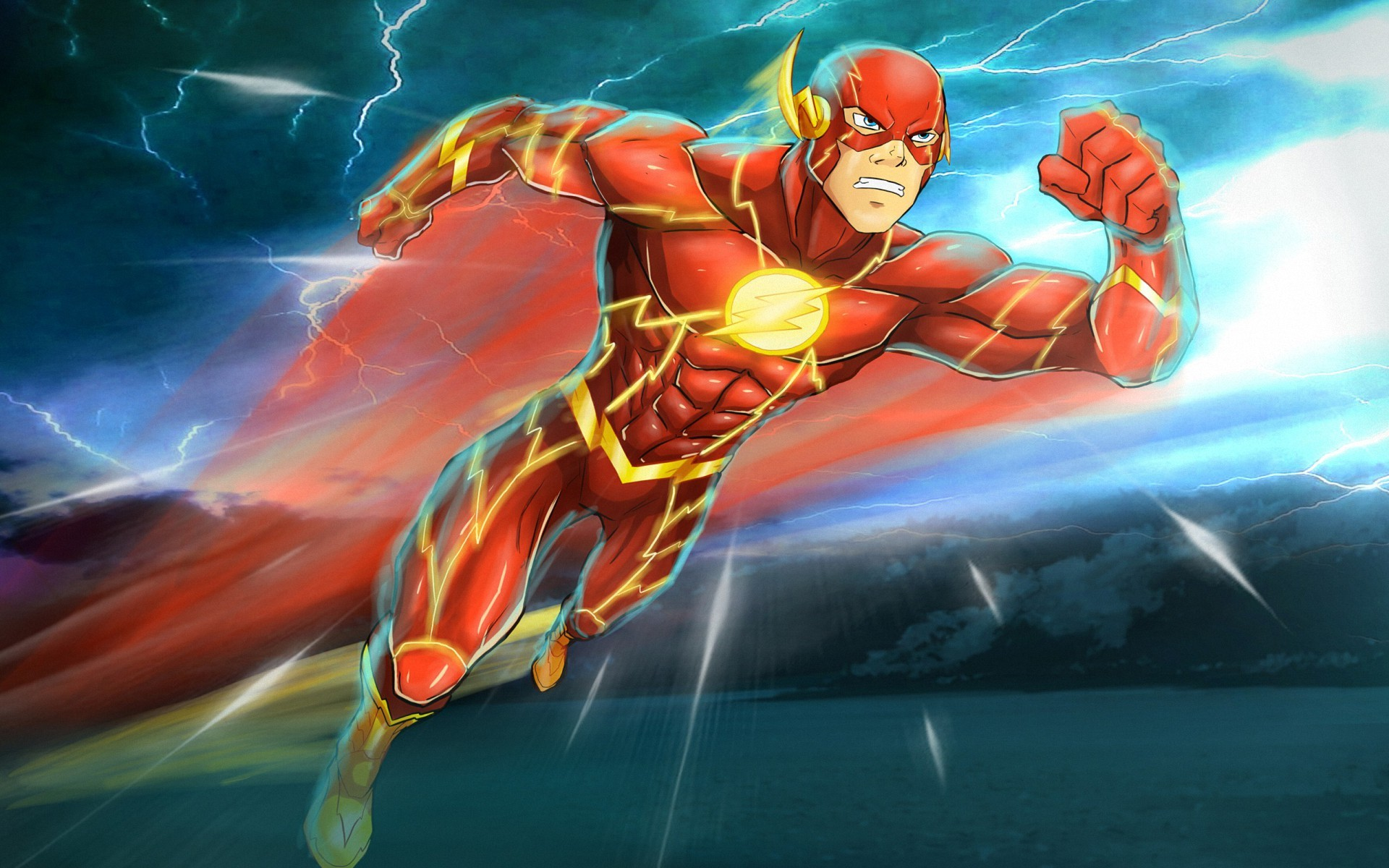 Flash Dc Wallpapers (60+ background pictures)