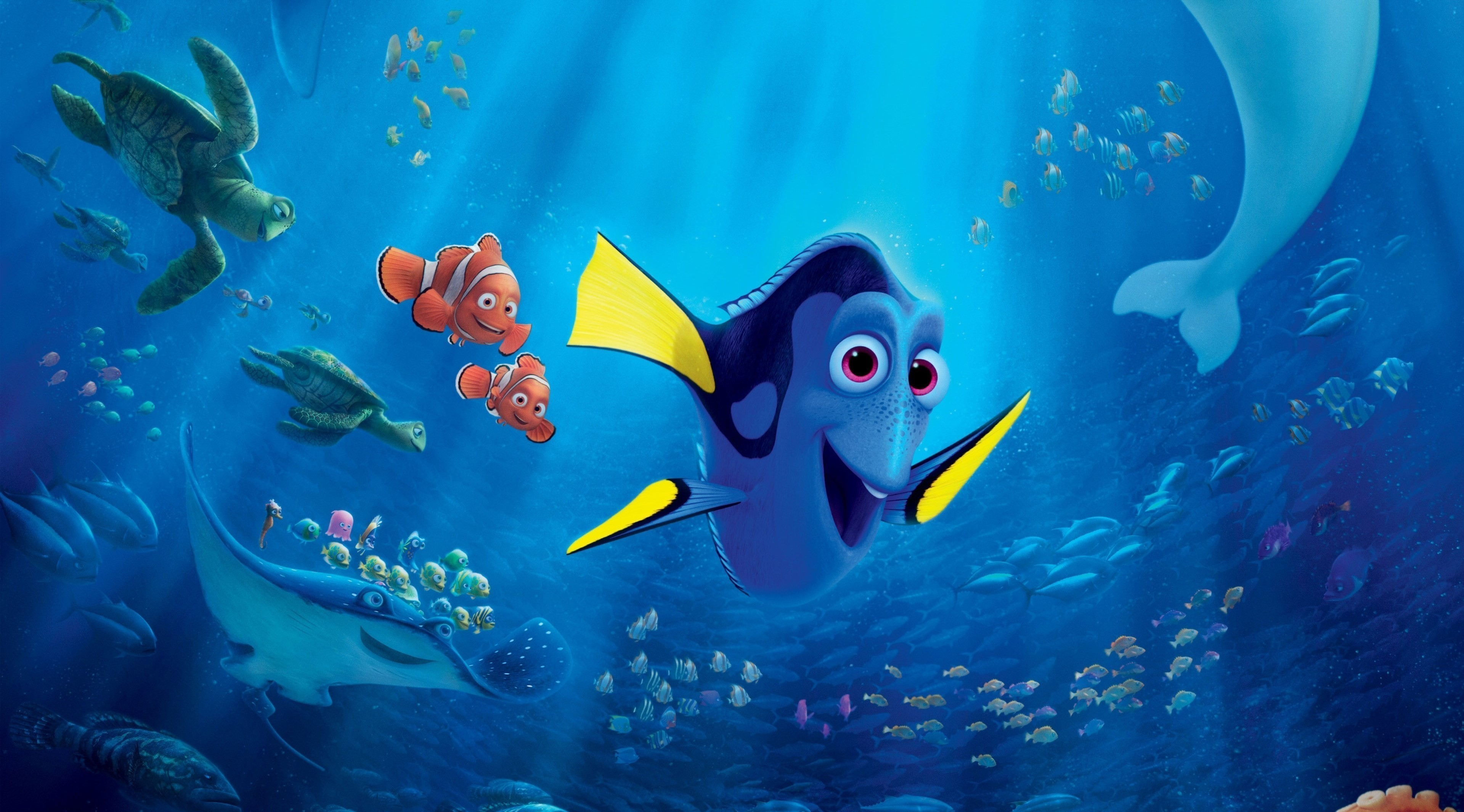 3840x2131 Finding Nemo Poster Fresh Movie Hd Wallpaper Dory A