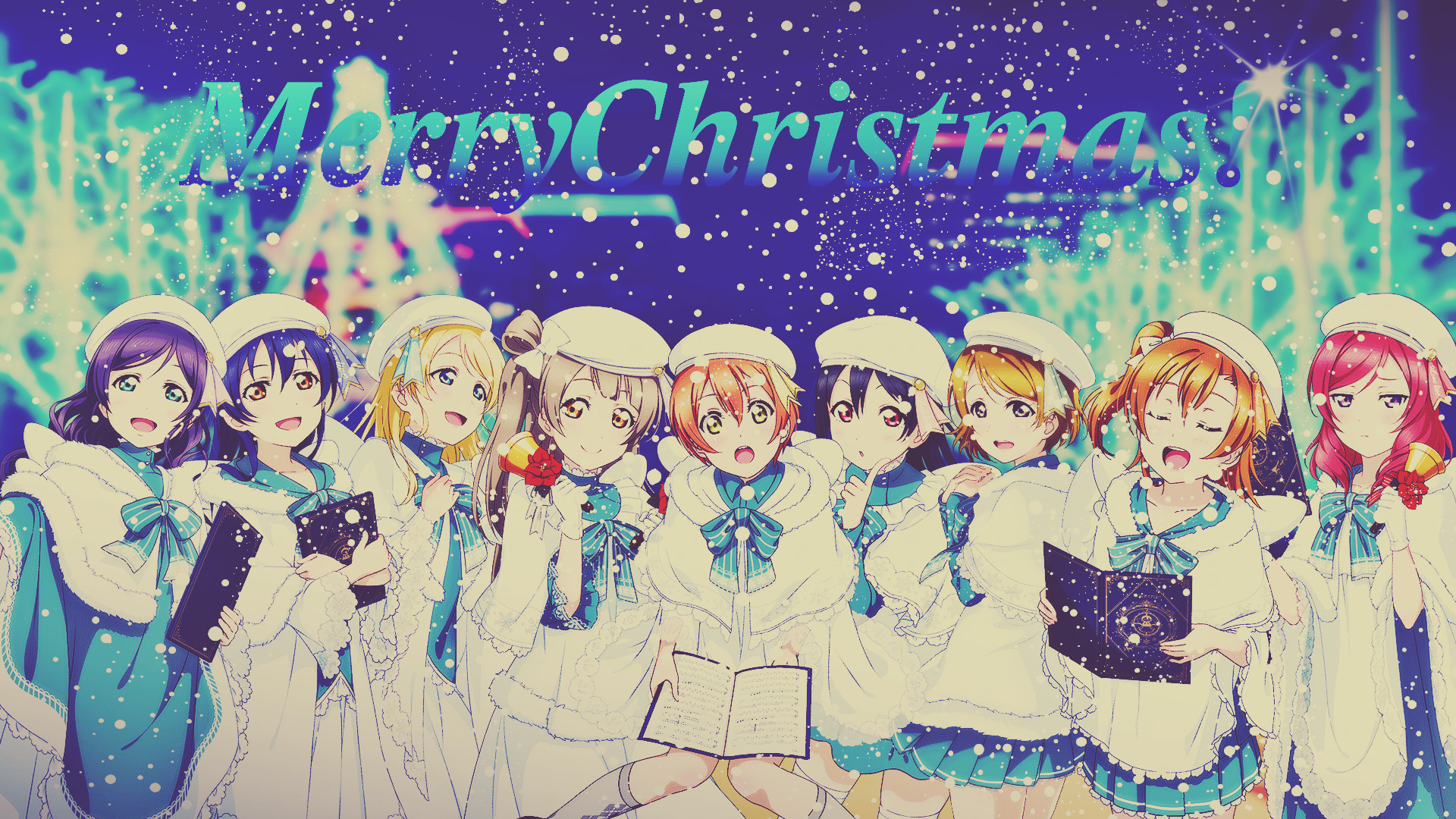 Anime Christmas Wallpapers (75+ background pictures)