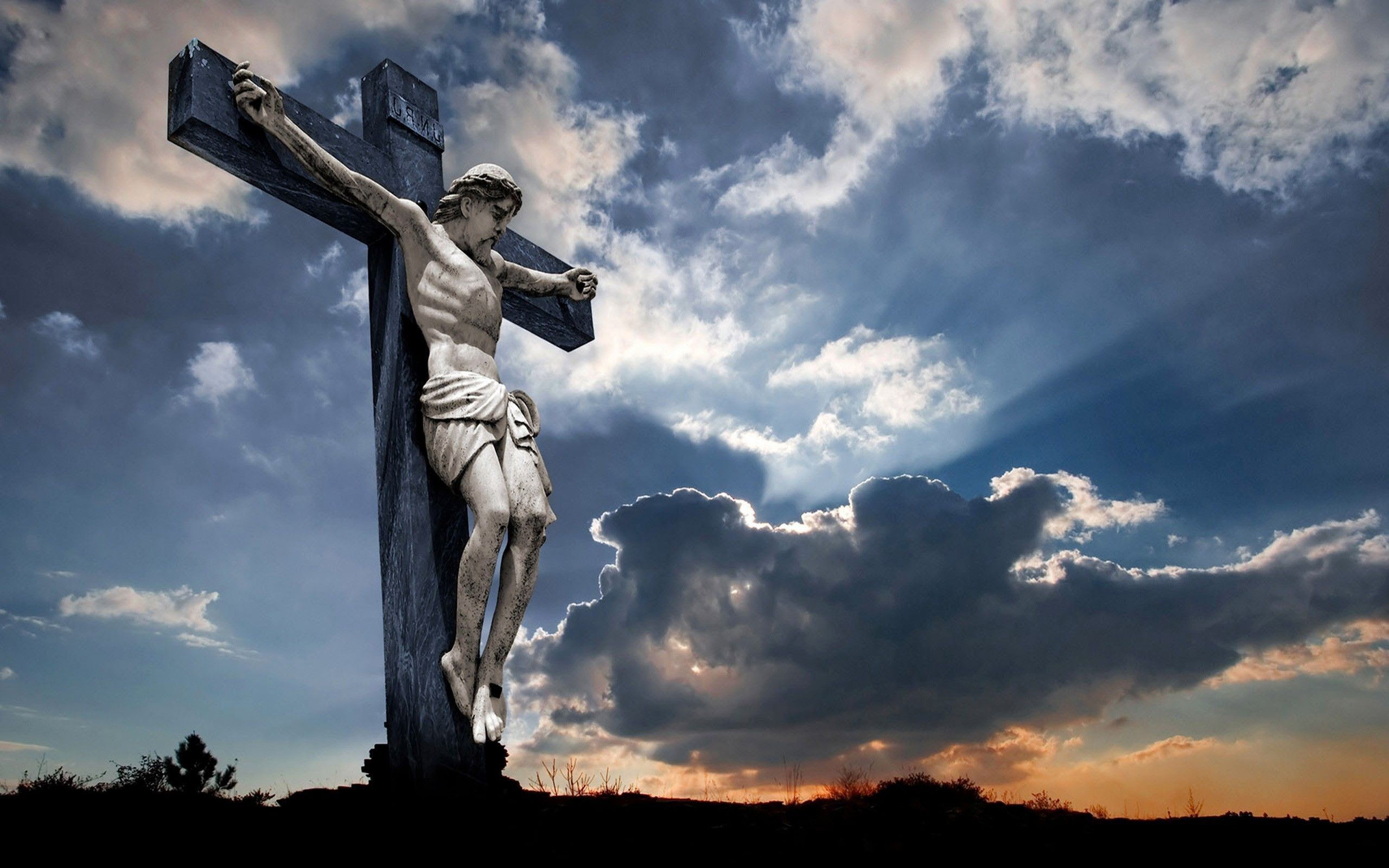 Jesus Christ On The Cross Wallpapers 69 Background Pictures