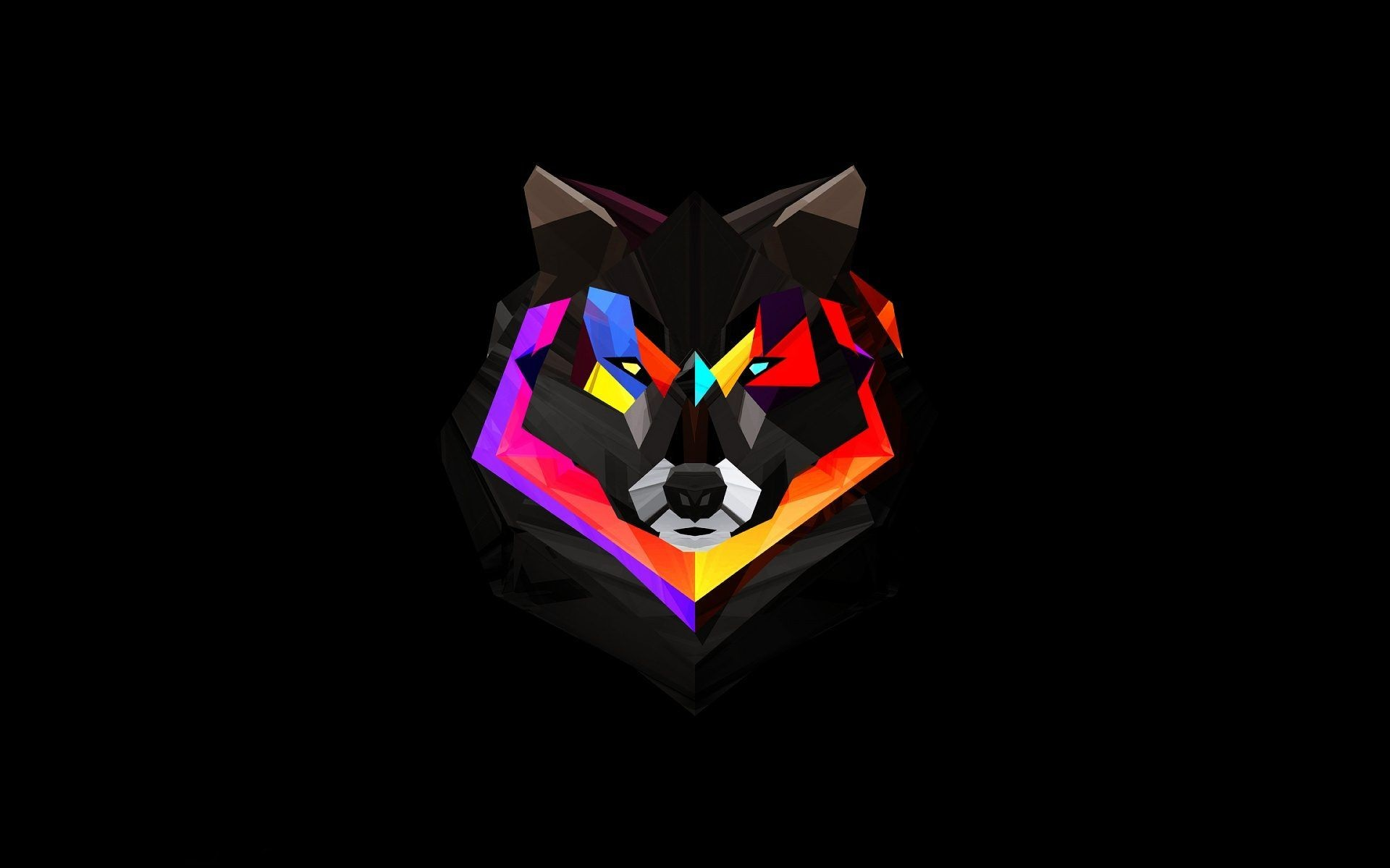 1920x1200 Fire And Ice Wolf