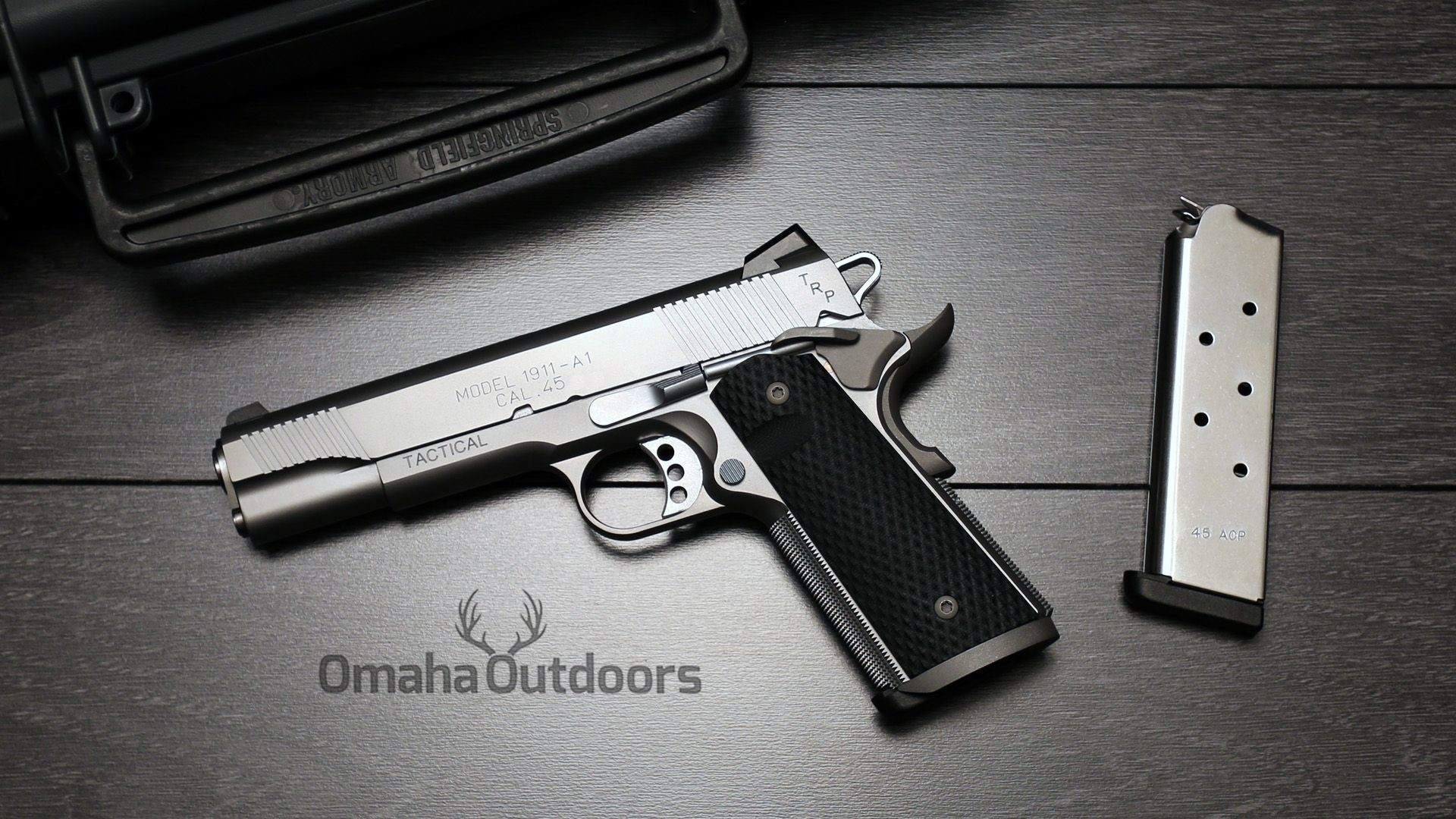 1920x1080 Springfield Armory 1911 Pistol Wallpapers 11