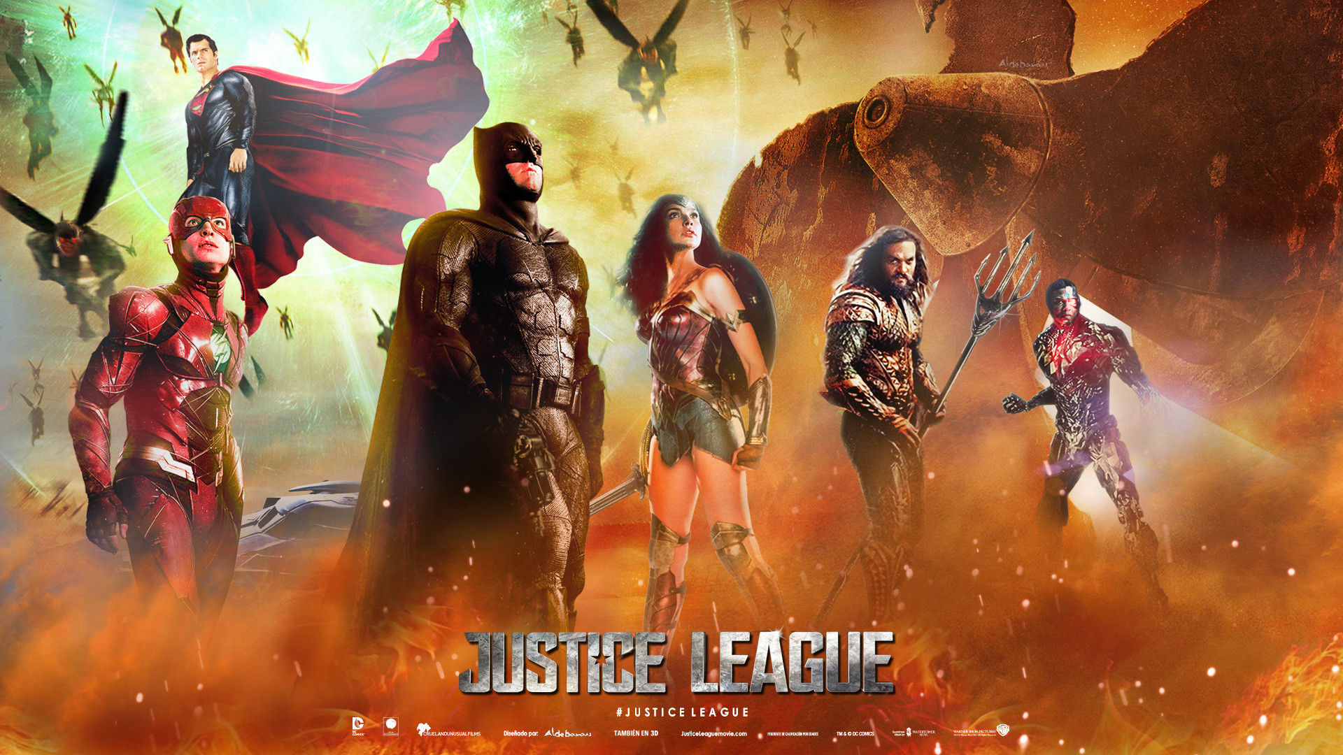 justice league wallpapers (70+ background pictures)