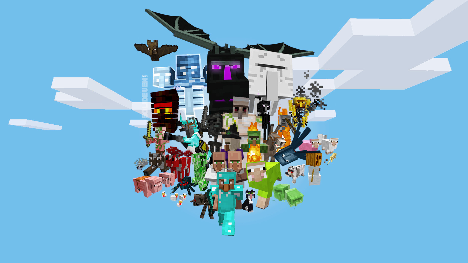 Minecraft Images Wallpapers 71 Background Pictures