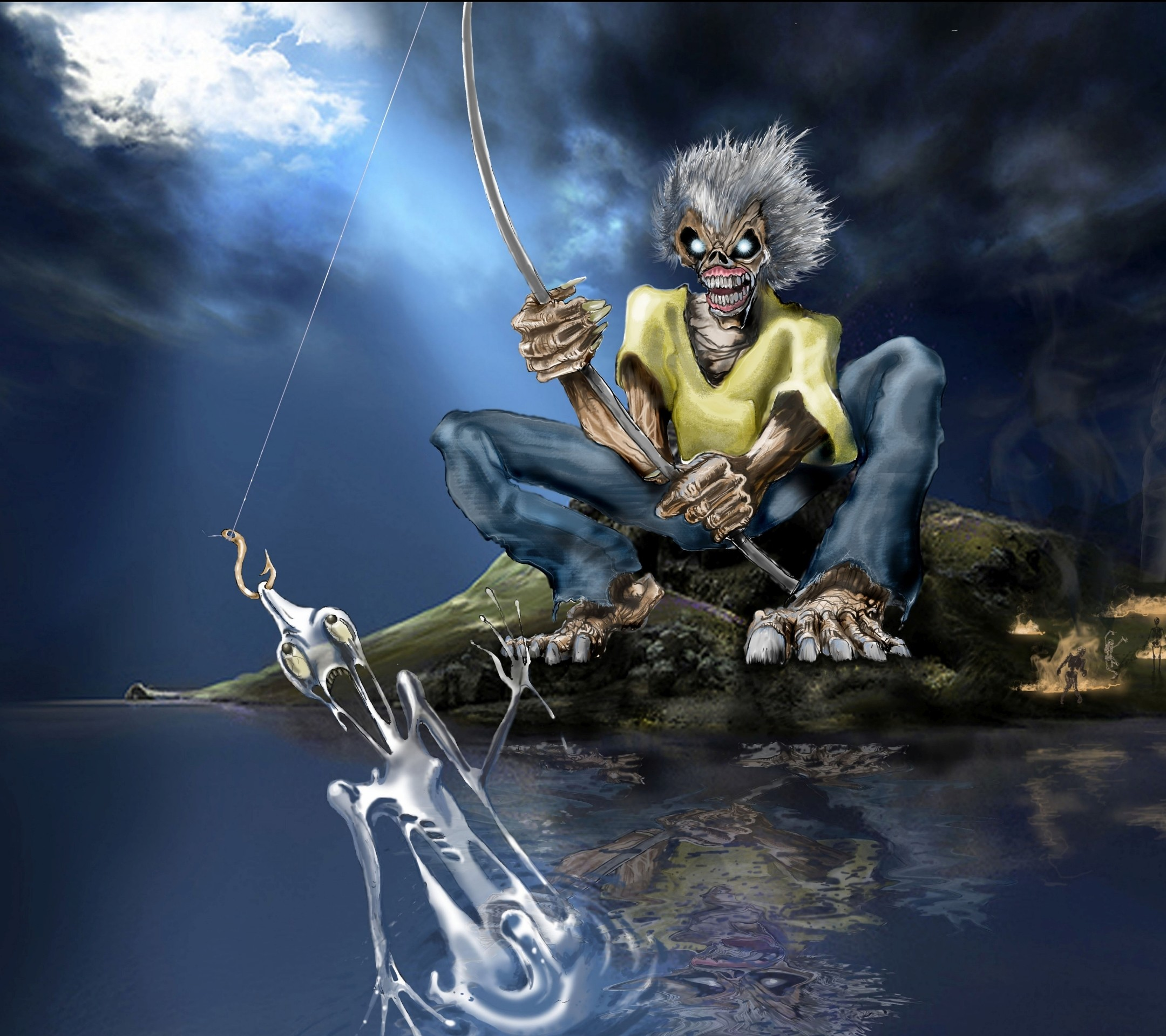 Wallpaper Iphone Iron Maiden: Iron Maiden Wallpapers (77+ Background Pictures