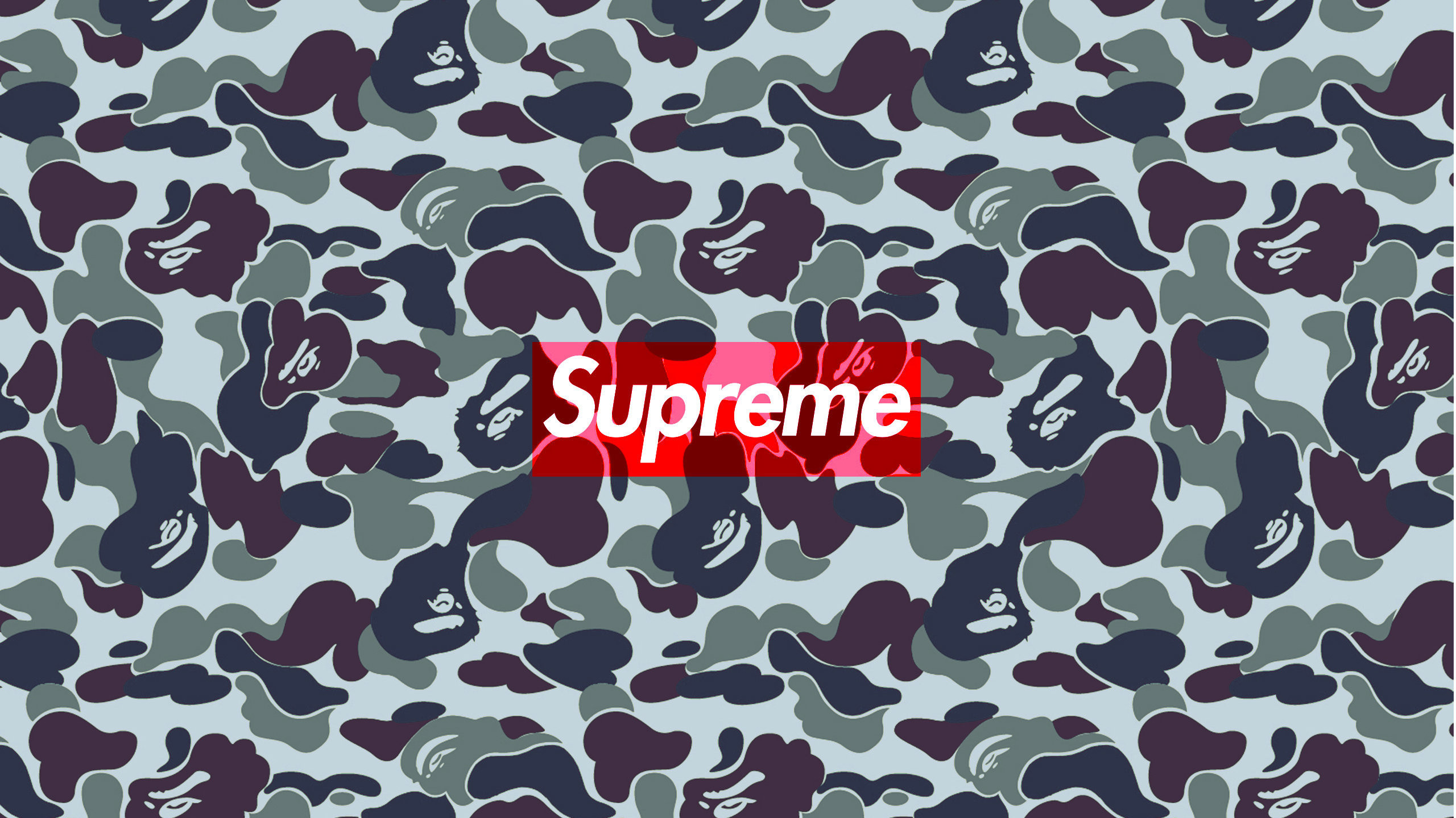 2560x1440 Download The Supreme Bape Urban Camo Wallpaper Below For Your Mobile Device Android Phones