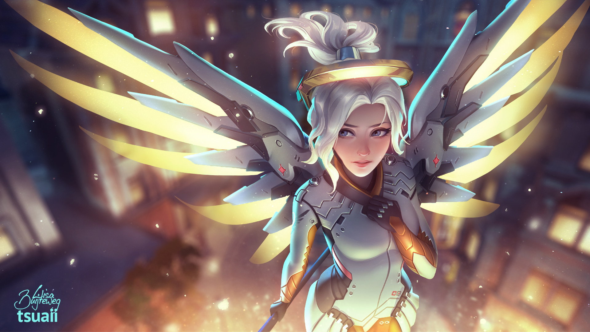 mercy overwatch wallpapers 73 background pictures
