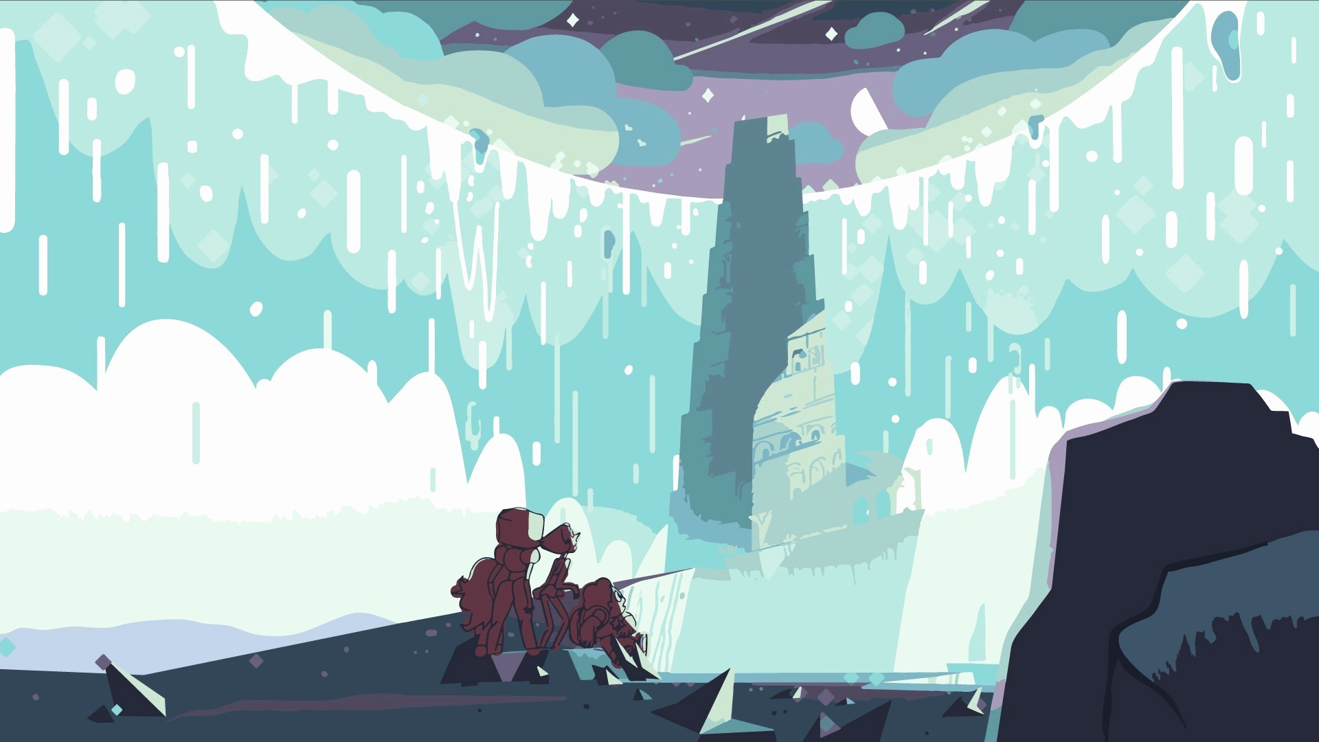 1920x1080 HQFX Images Collection Steven Universe Wallpaper 1366x768 By Holley Kristensen