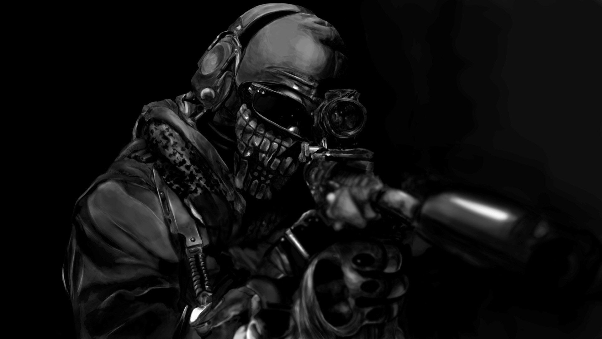 Cod Ghost Wallpapers 76 Background Pictures