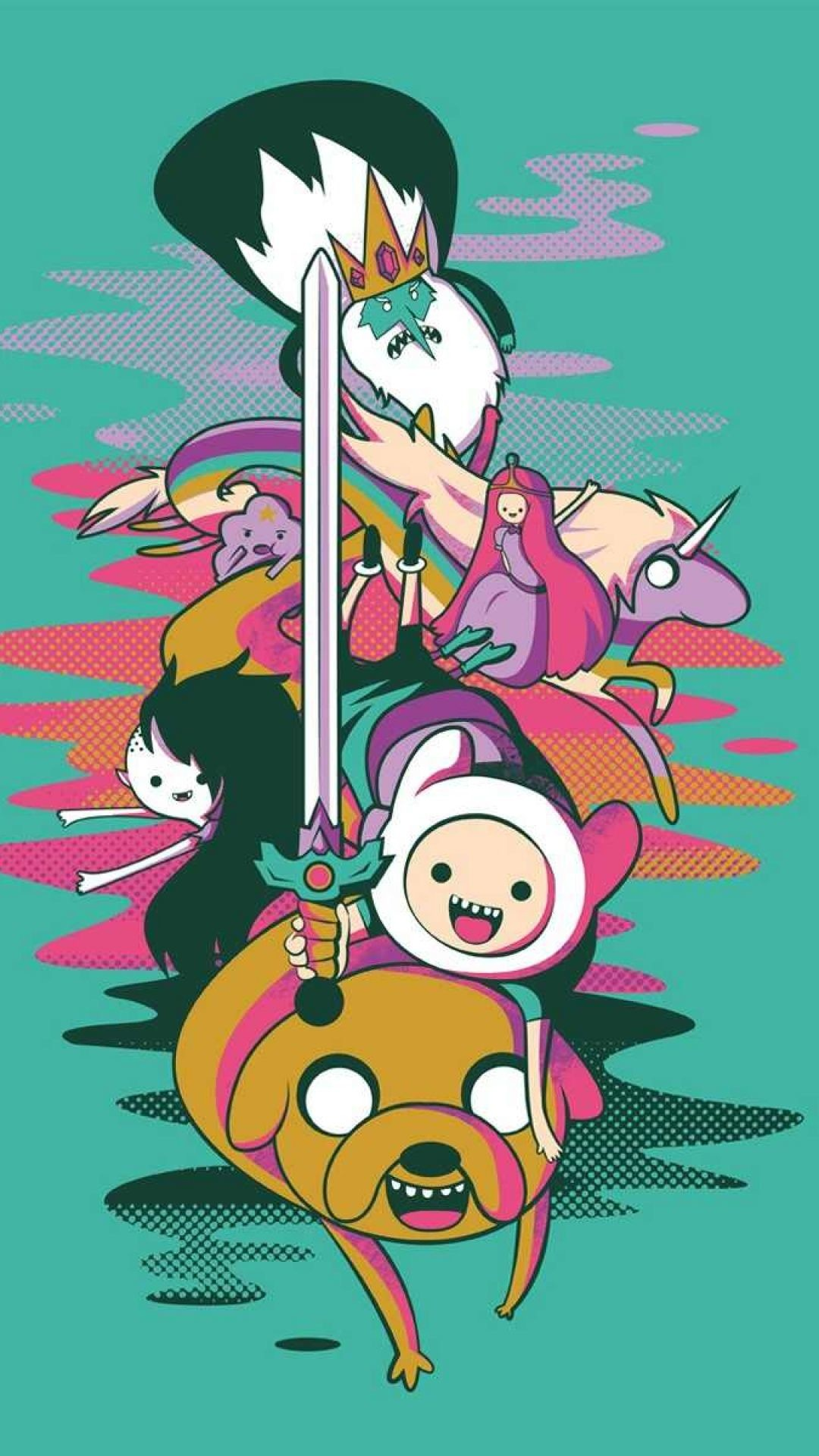 1080x1920 Adventure Time IPhone Wallpapers 15