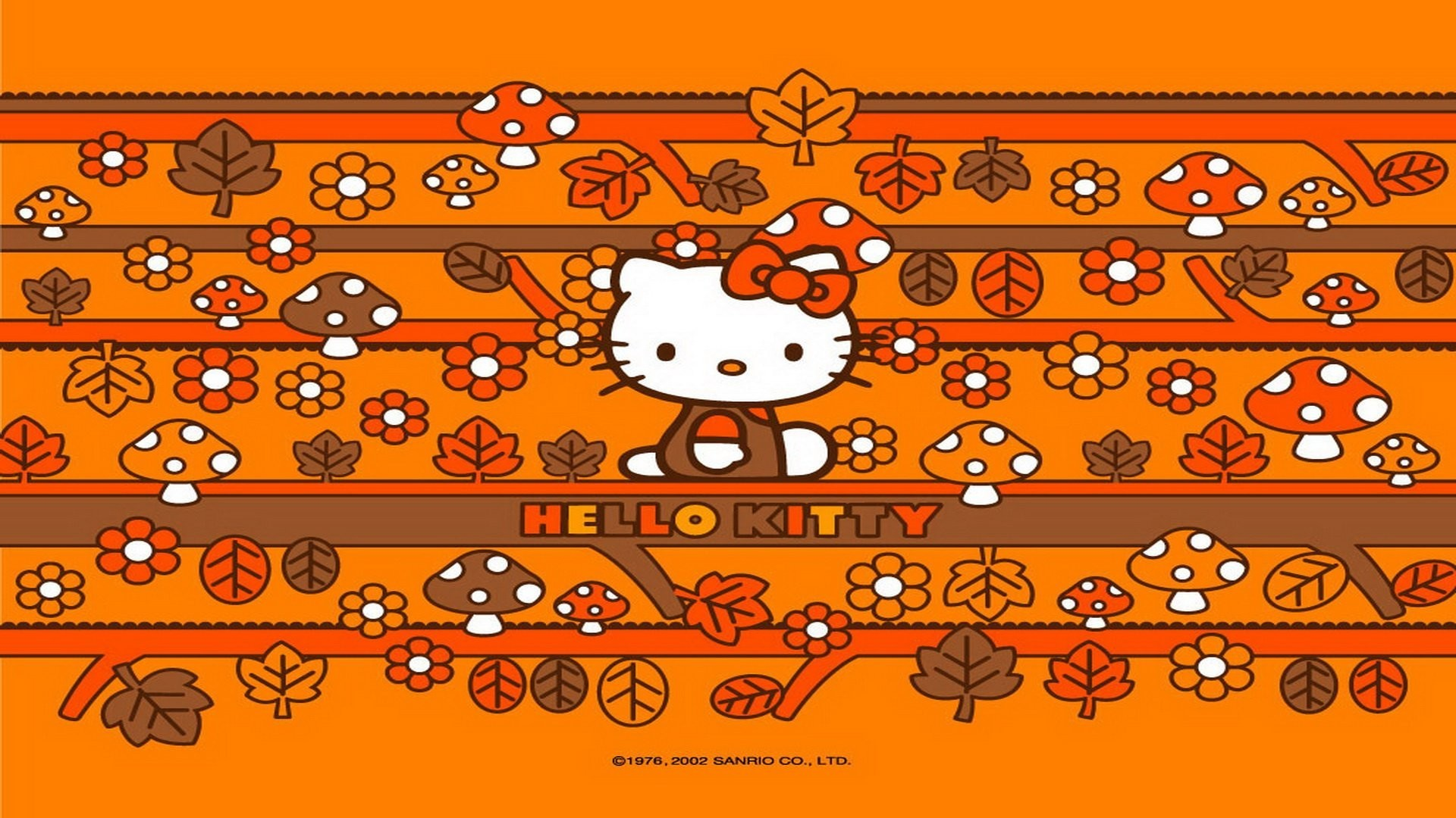 Hello Kitty Thanksgiving Wallpapers 60 Background Pictures