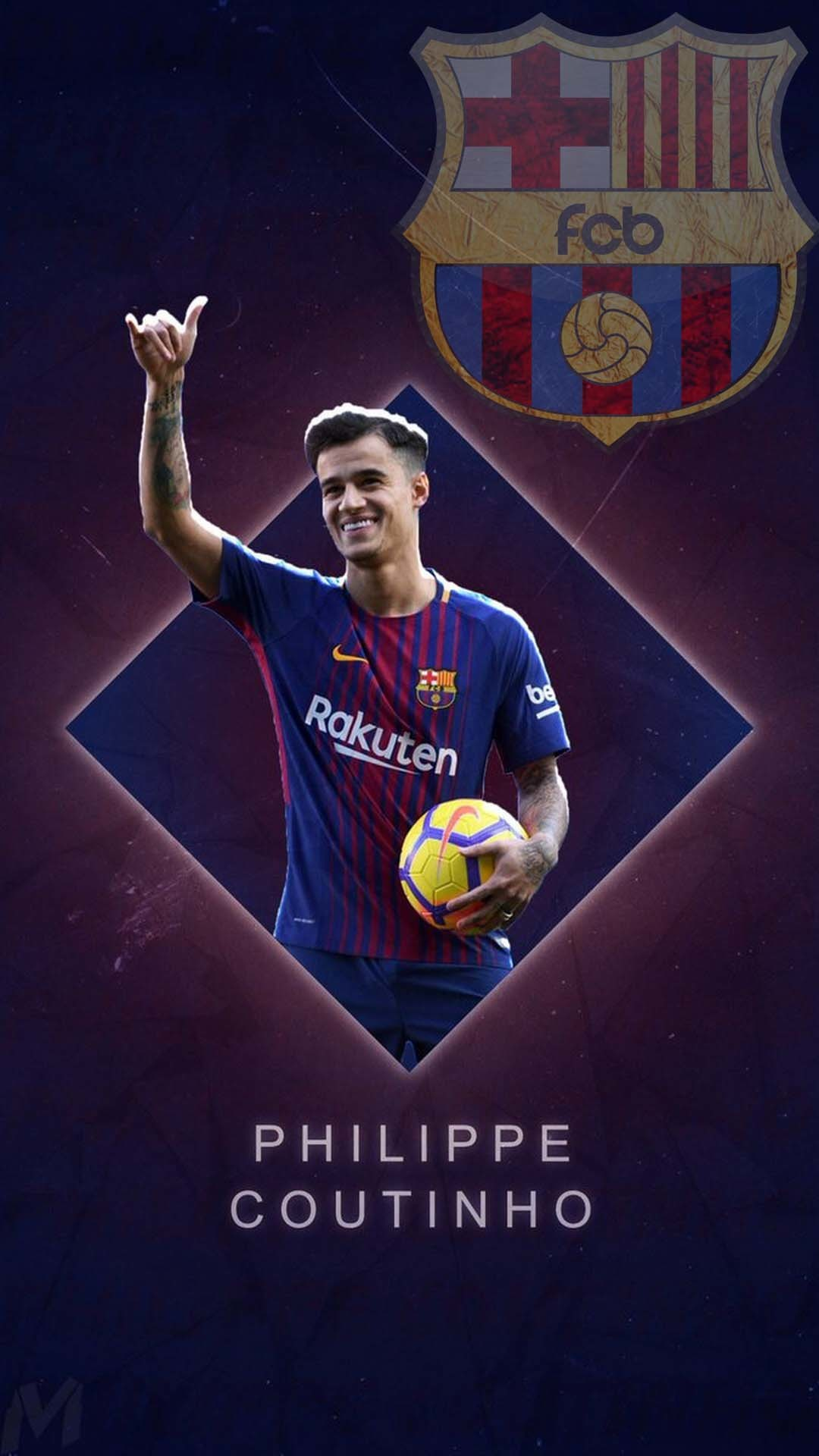 Barcelona wallpapers 78 background pictures - Coutinho wallpaper hd ...