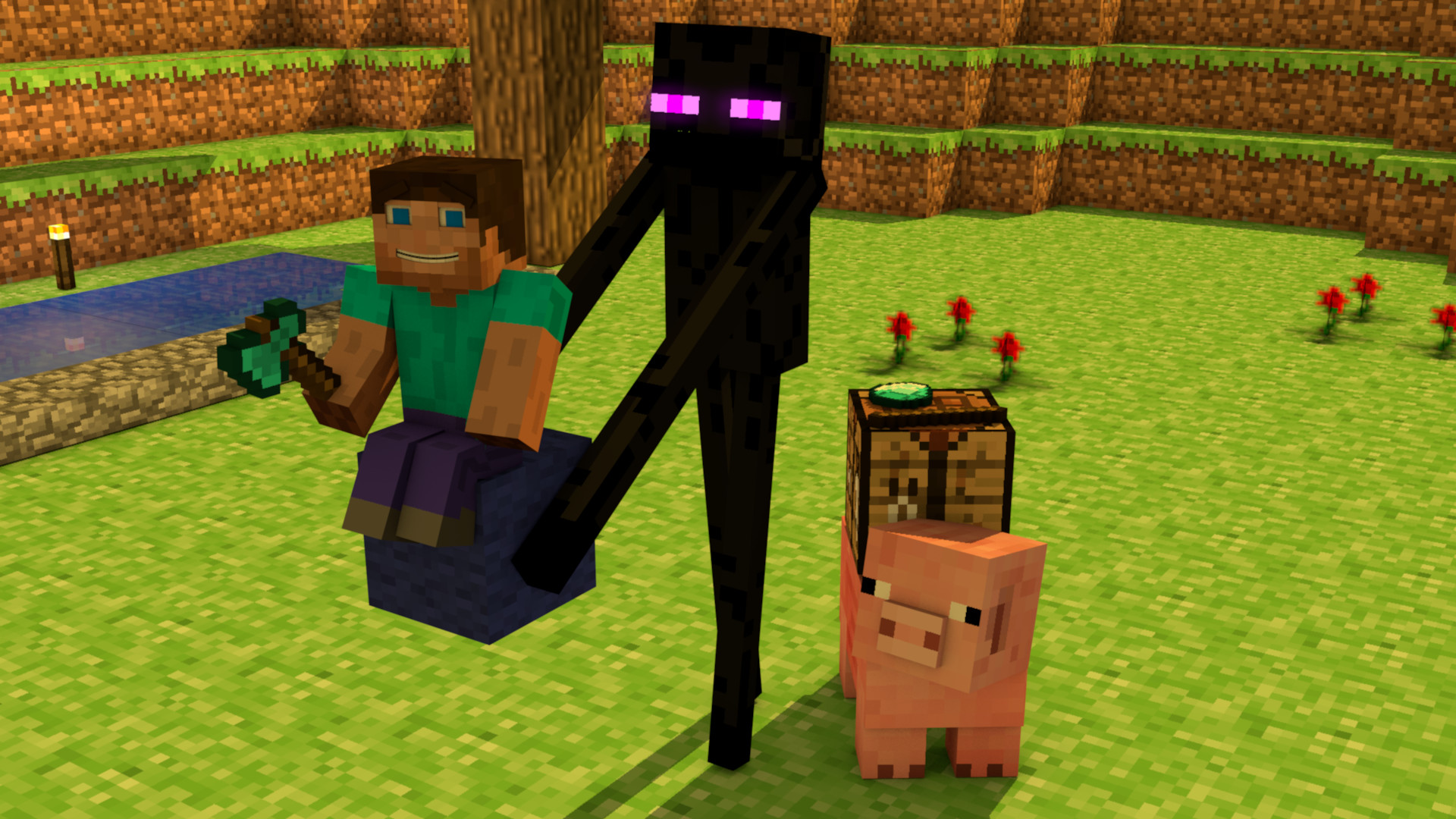 Minecraft Enderman Wallpapers 77 Background Pictures
