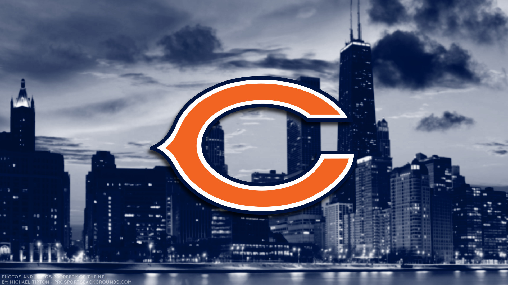 1920x1080 Chicago Bears Wallpaper Widescreen High Quality For Computer Pc  Iphone