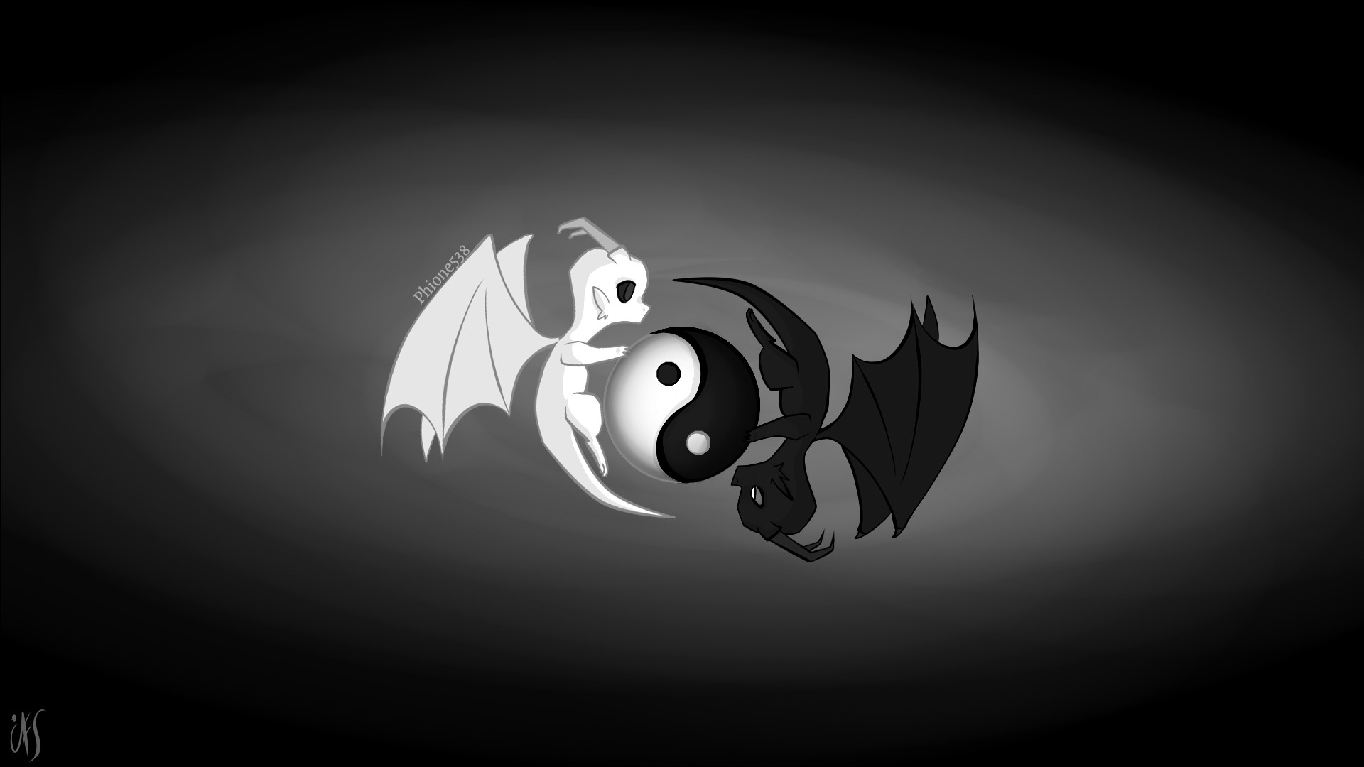 Yin Yang Dragon Wallpapers 61 Background Pictures