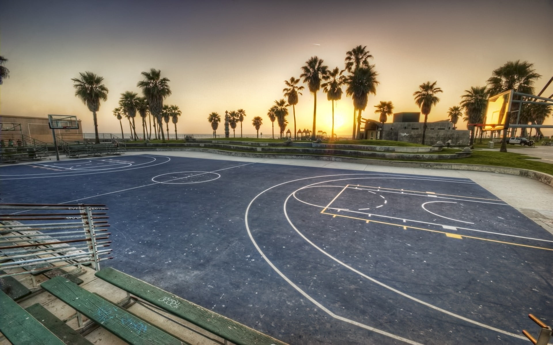 Basketball Court Wallpapers 69 Background Pictures