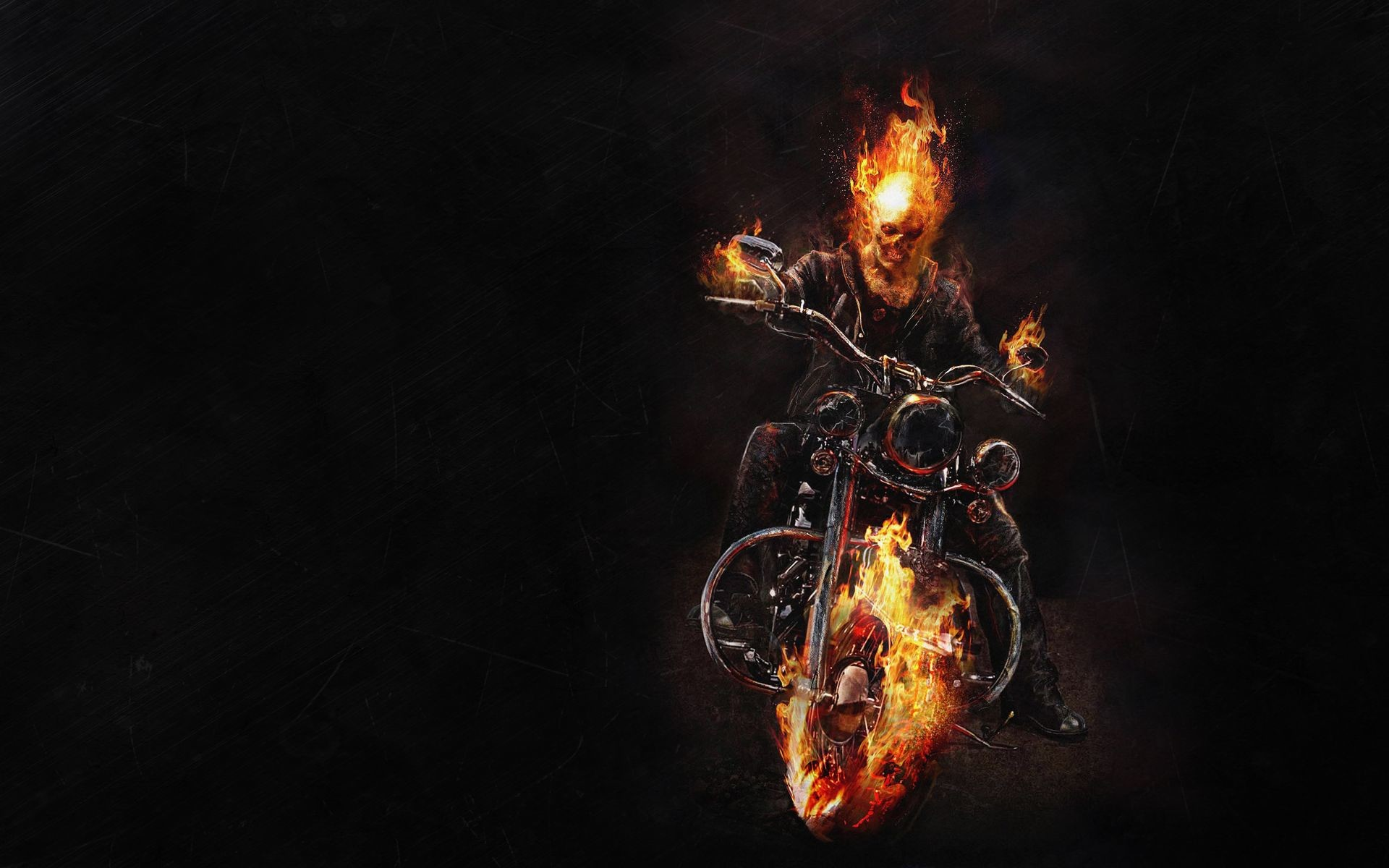 Skull On Fire Wallpapers 67 Background Pictures
