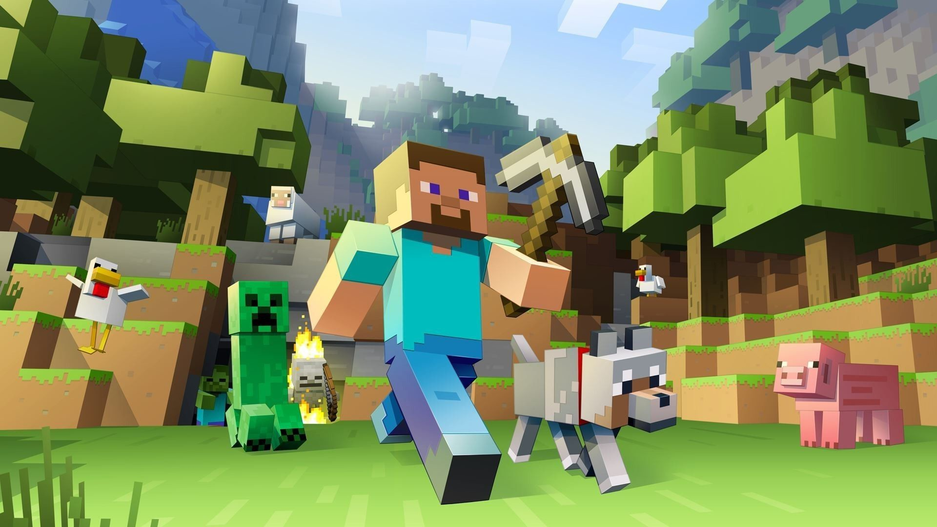 Minecraft Wallpapers Hd 84 Background Pictures