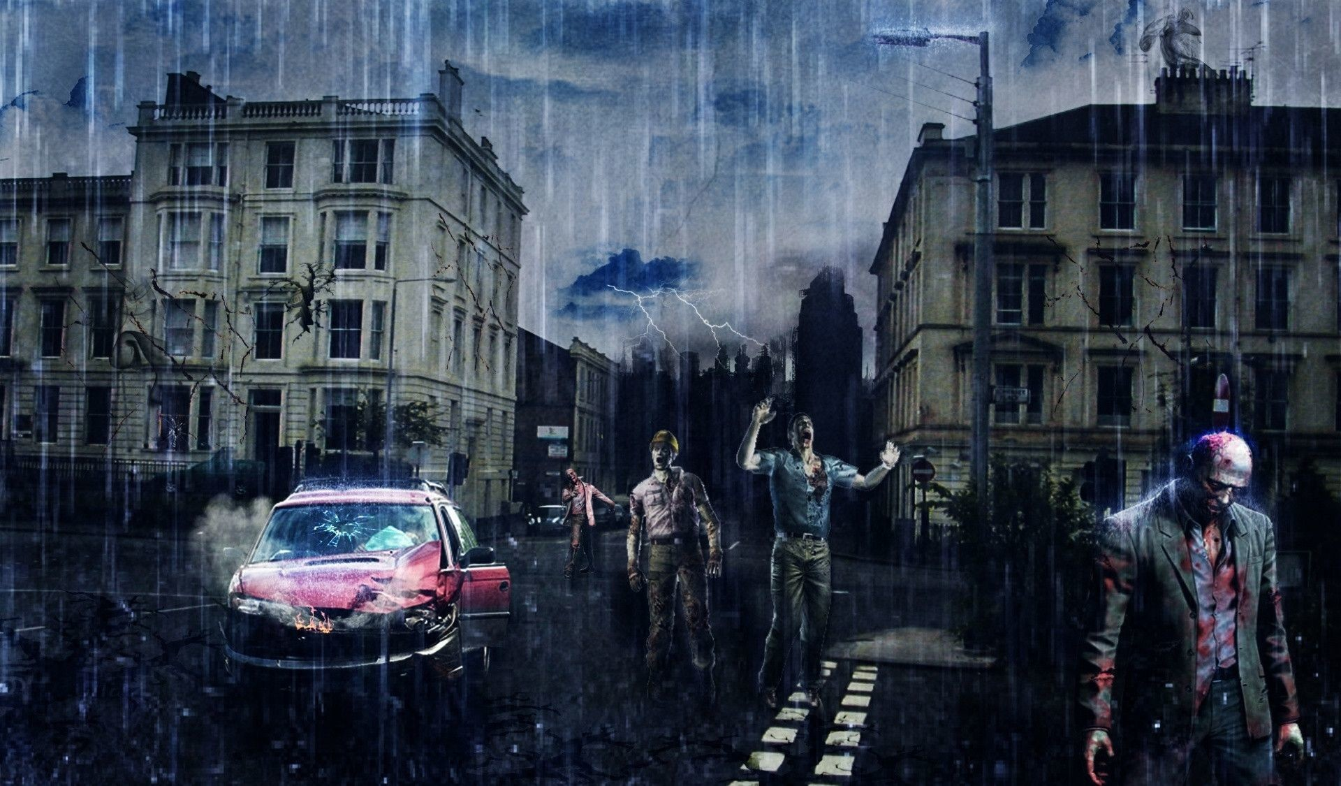 Zombie Apocalypse Wallpapers 75 Background Pictures