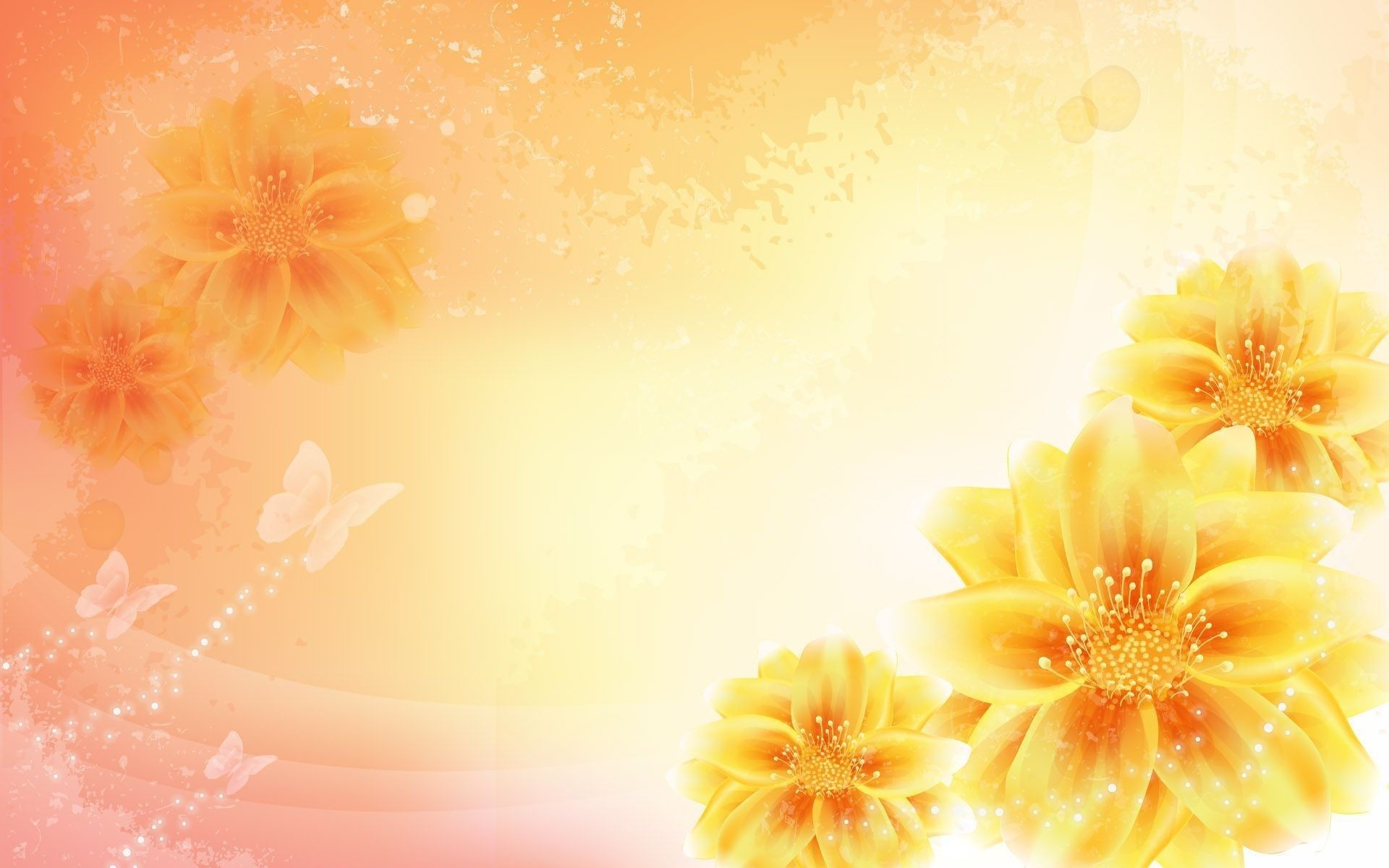 Yellow flowers wallpapers 59 background pictures 2560x1600 wallpapers yellow flowers gallery 69 plus pic wpw307247 mightylinksfo