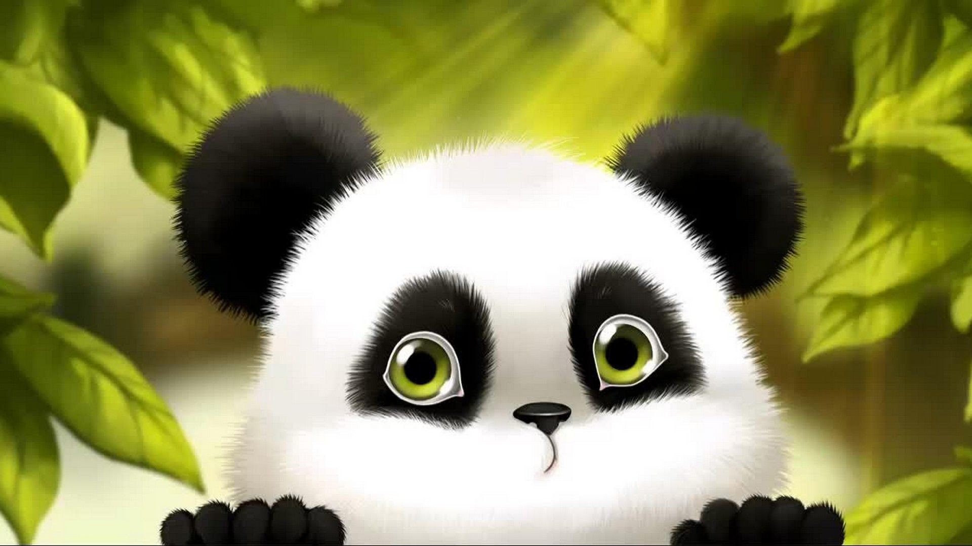 Panda Cartoon Wallpapers (76+ background pictures)