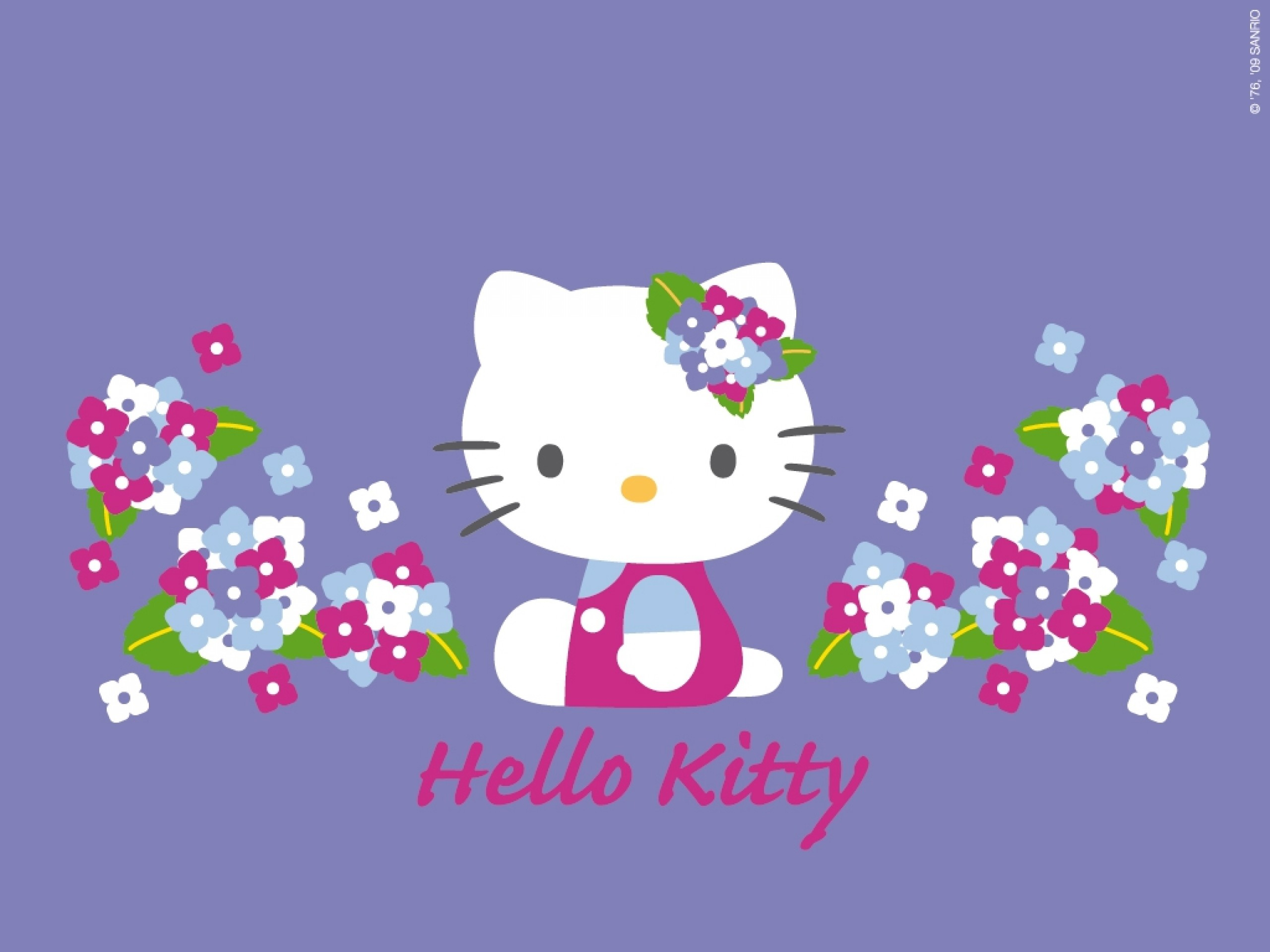 Wallpapers Hello Kitty Desktop 63 Background Pictures