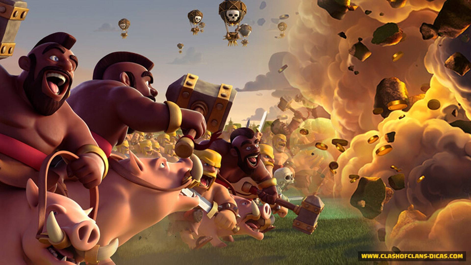 Clash Of Clans Wallpapers 87 Background Pictures