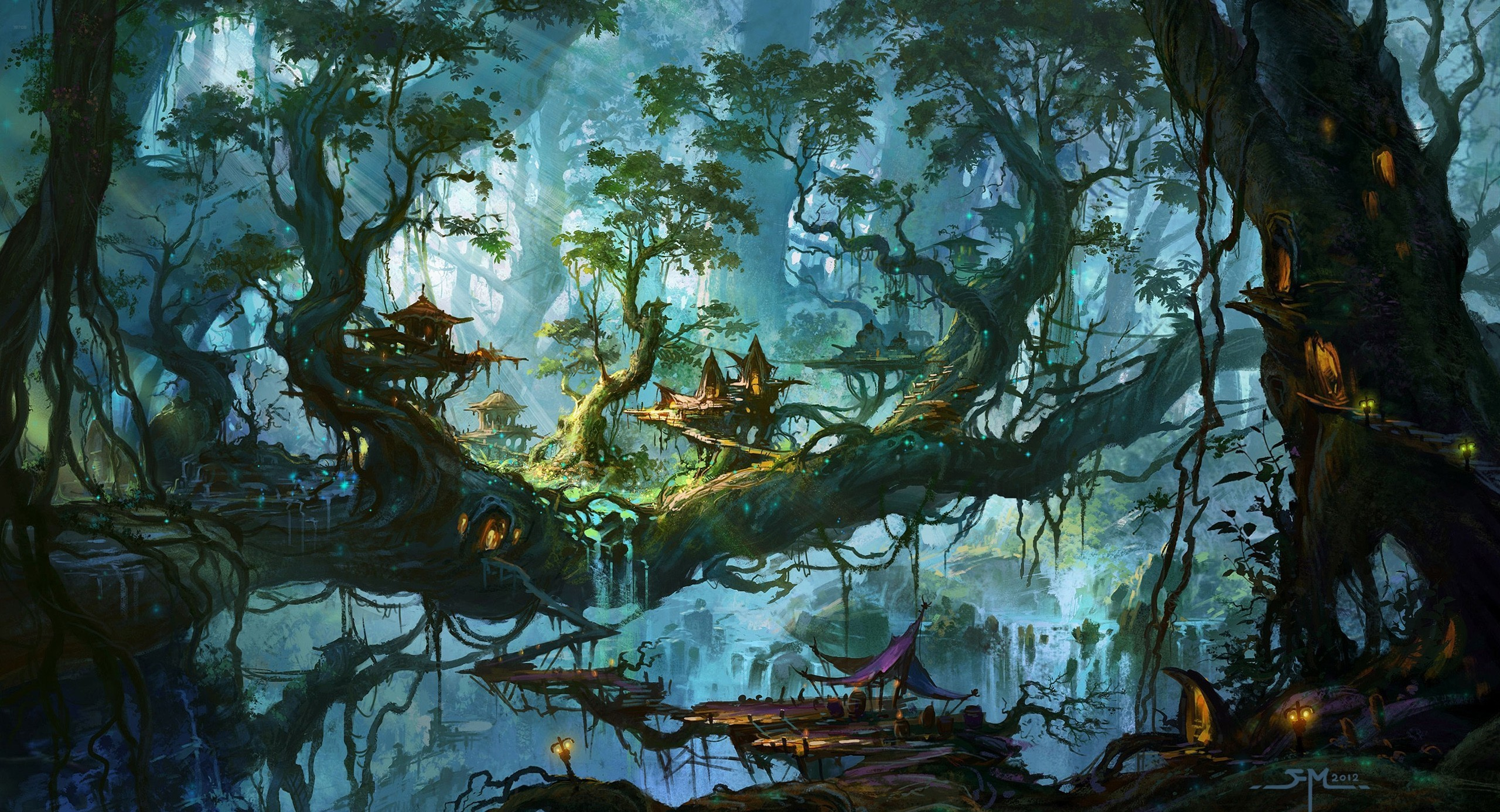 fantasy forest wallpapers (71+ background pictures)