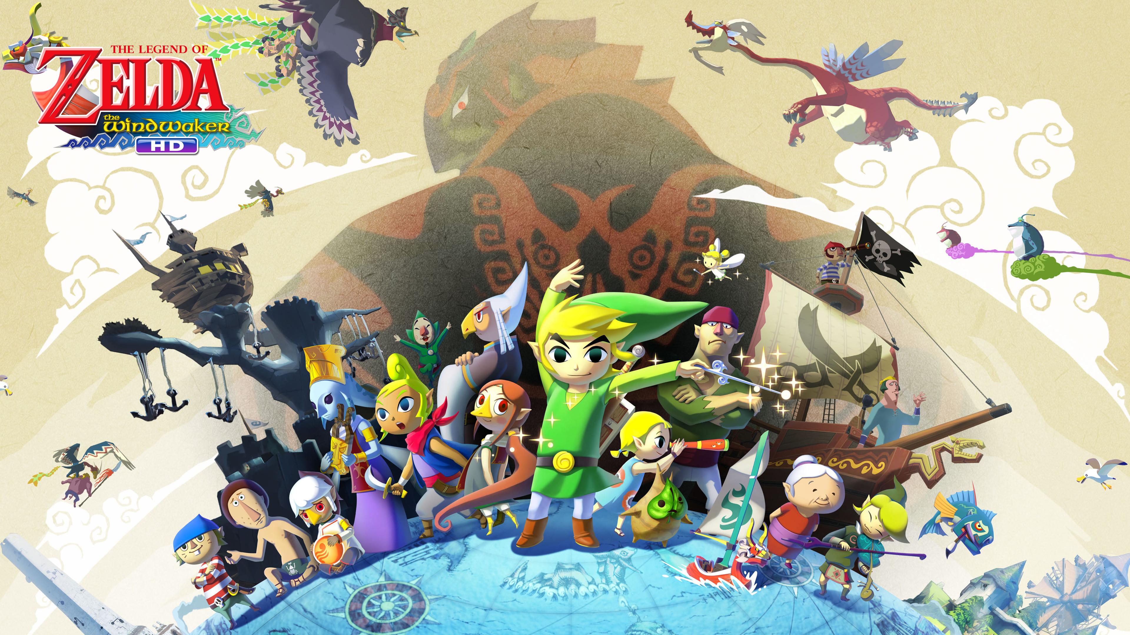 the legend of zelda the wind waker hd wallpapers (82+ background